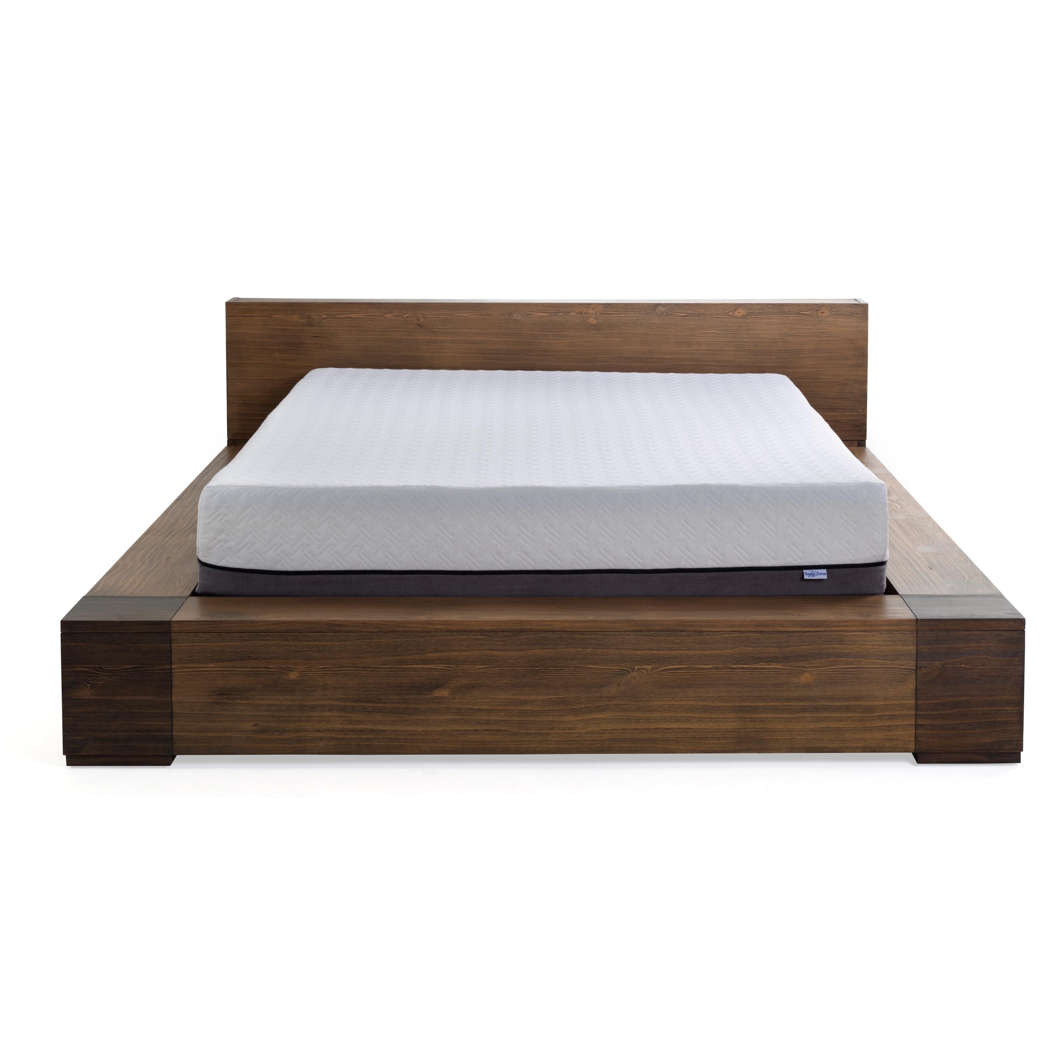 Shop Sleep Zone Huntington 10 Inch Queen Size Memory Foam Mattress