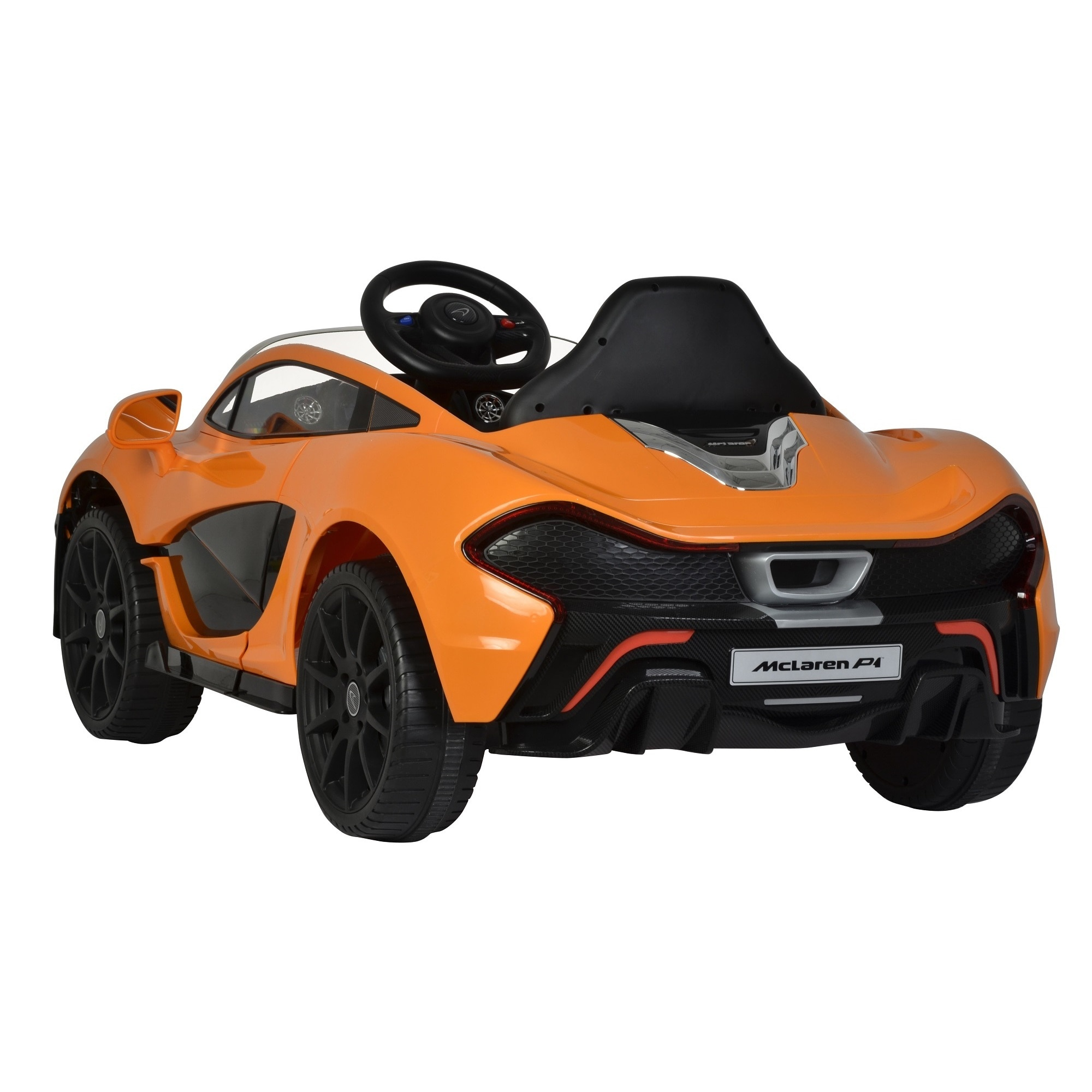 Best Ride Cars Orange McLaren P1 12V Ride Free Shipping