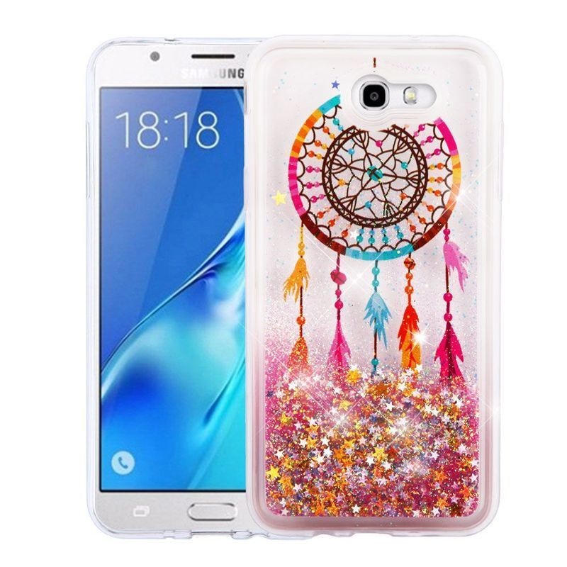 Shop Insten Colorful Dreamcatcher Quicksand Hard Snap-on Case Cover For Samsung Galaxy J7 (2017)/ J7 Perx/ J7 Sky Pro/ J7 V - Free Shipping On Orders Over ...