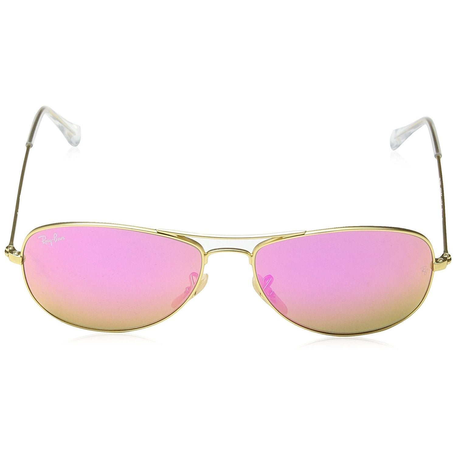 808cbcd155 Shop Ray-Ban Cockpit RB3362 Men s Gold Frame Cyclamen Flash 59mm Lens  Sunglasses - Free Shipping Today - Overstock - 15902567