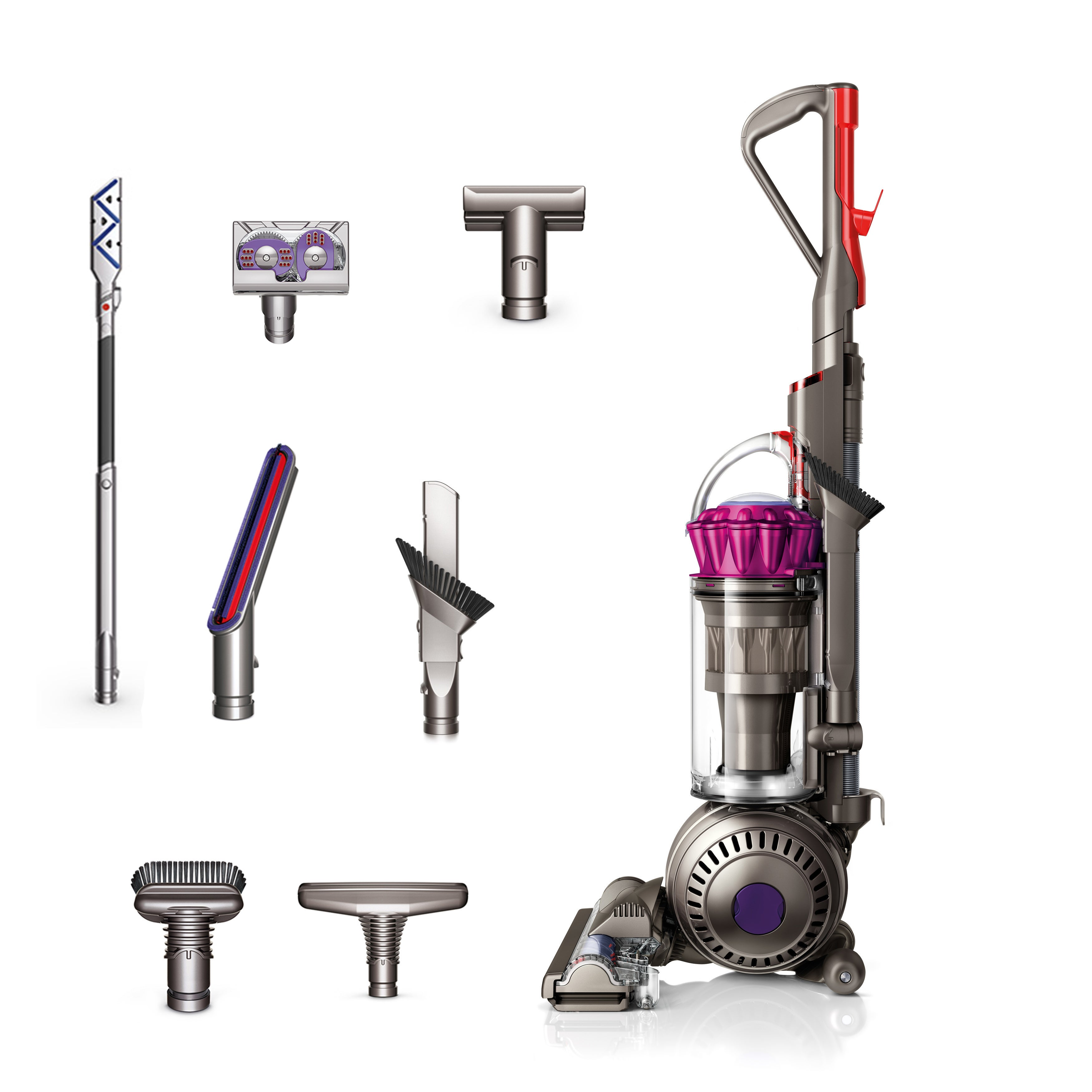 Shop Dyson Fuchsia Ball Complete Animal Bagless Upright Vacuum  (Refurbished) - Free Shipping Today - Overstock.com - 15903123