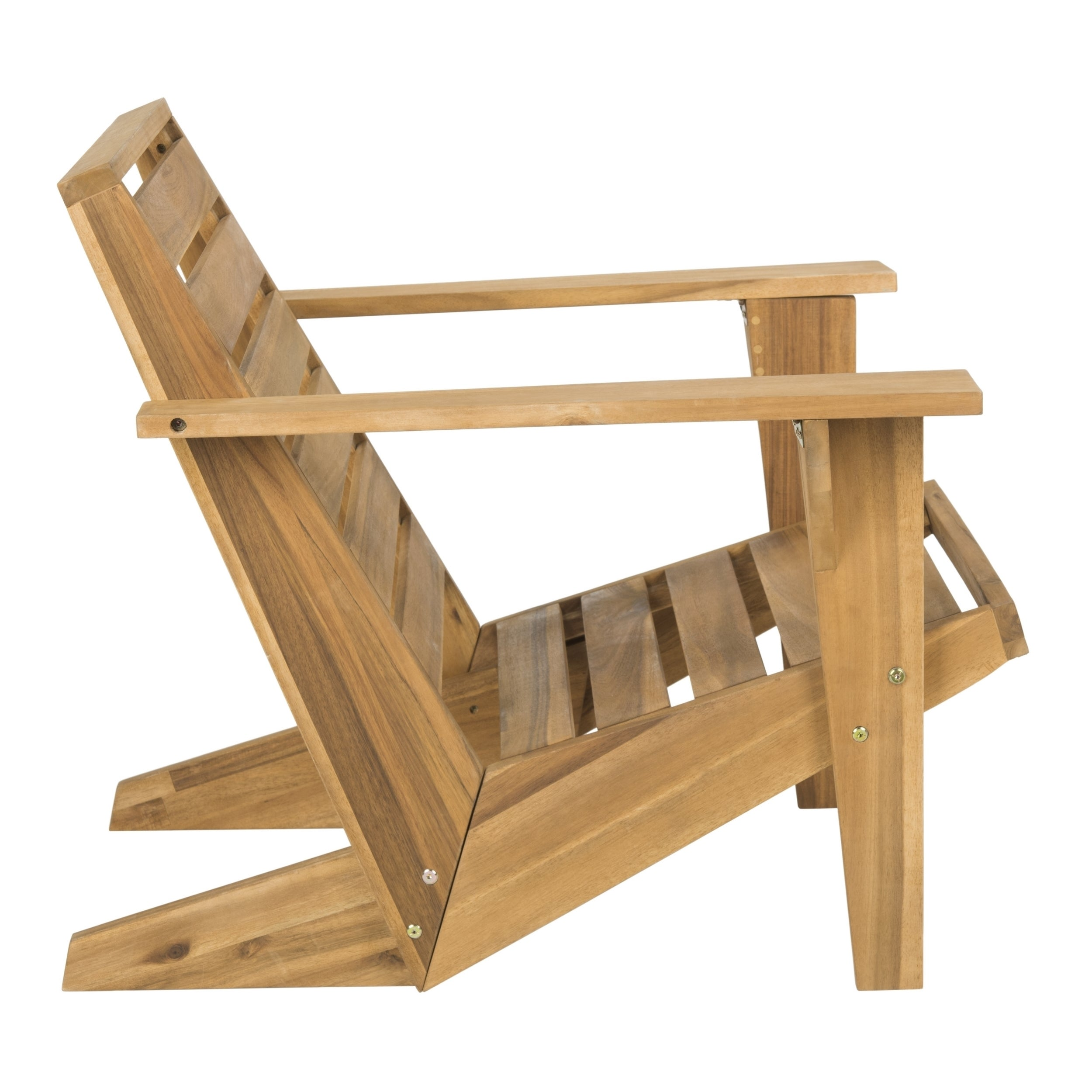 Shop Safavieh Lanty Grey Adirondack Chair   On Sale   Free Shipping Today    Overstock.com   15907474