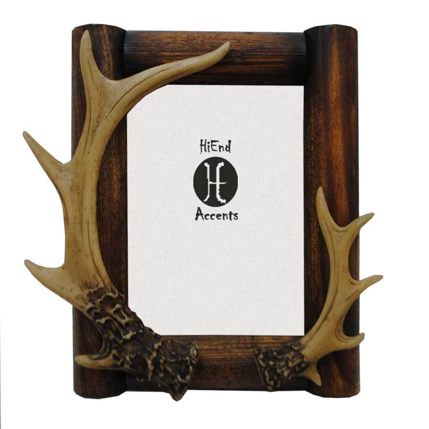 Shop HiEnd Accents Antler Frame - Free Shipping On Orders Over $45 ...