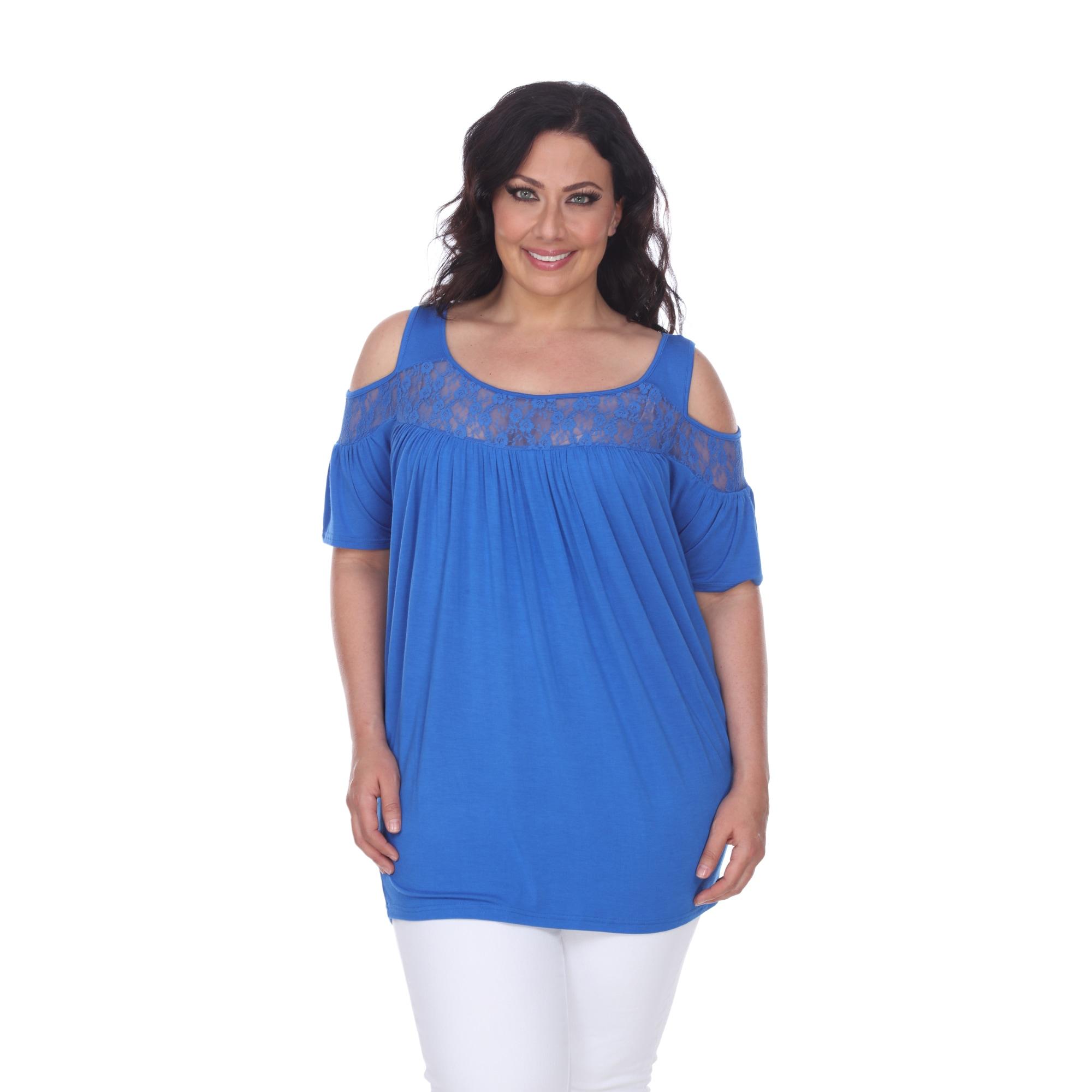 6833614364dd8 Shop White Mark Women s Plus Size Bexley Tunic Top - On Sale - Free ...
