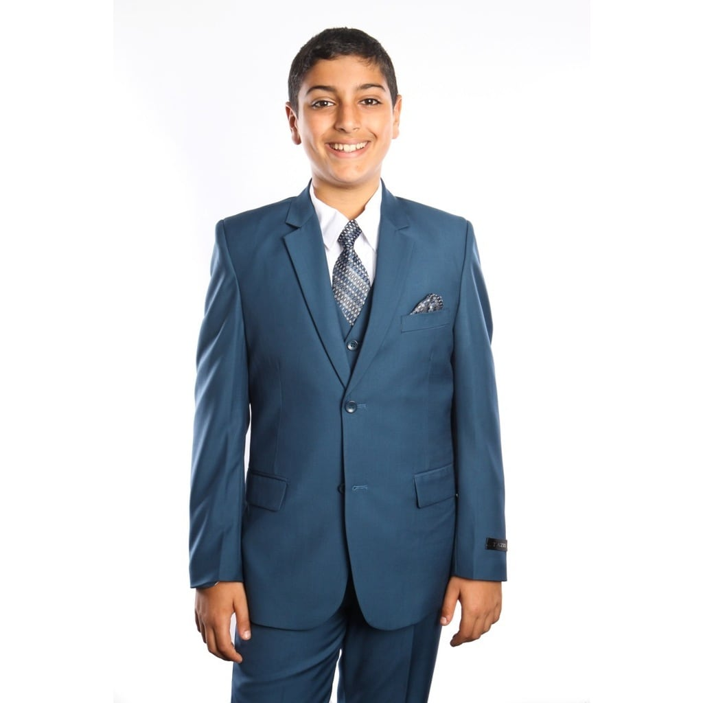 Shop Tazio Boy\'s 5 Piece Suit - Free Shipping Today - Overstock.com ...
