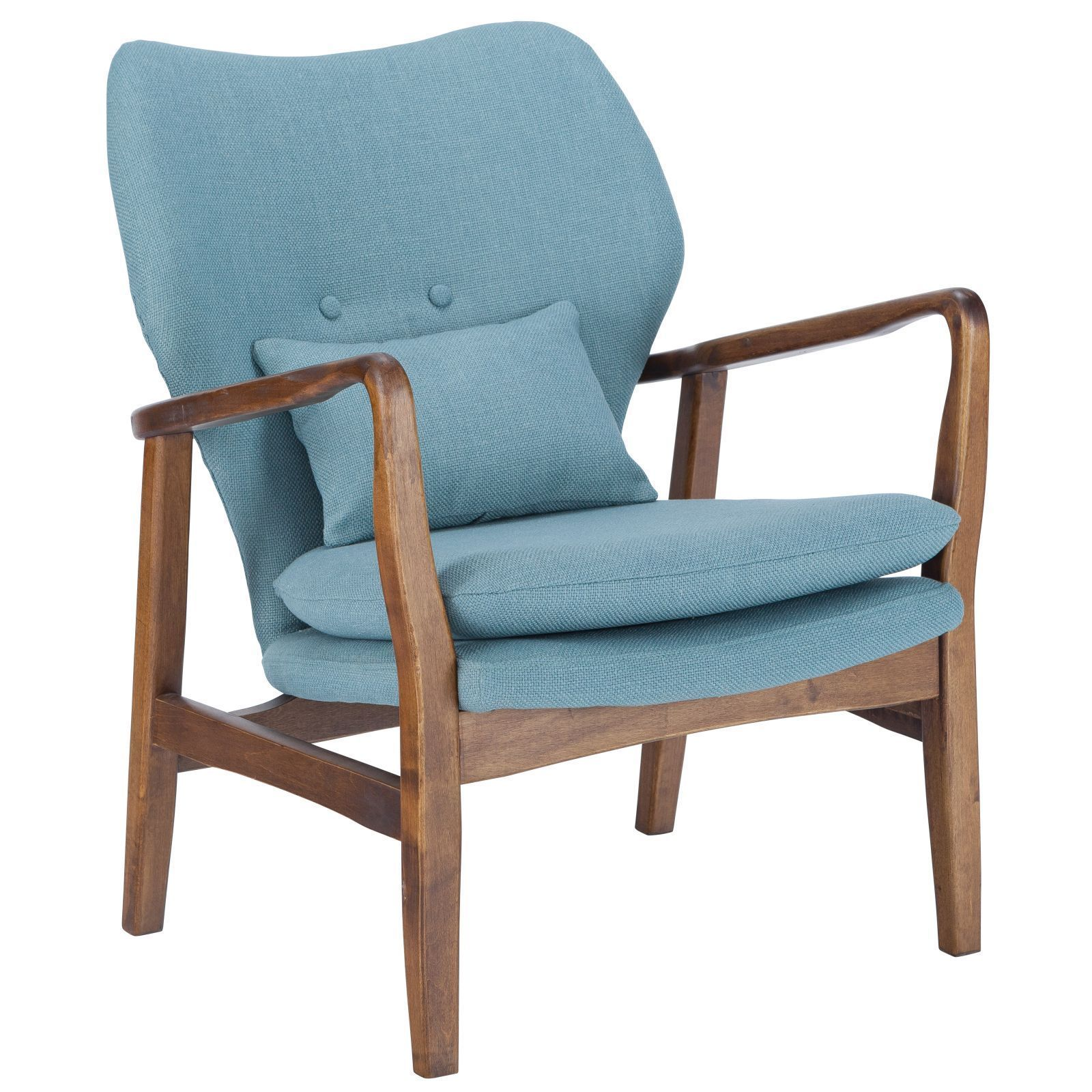 Shop Poly and Bark Atreya Walnut Wood Chair - On Sale - Free ...