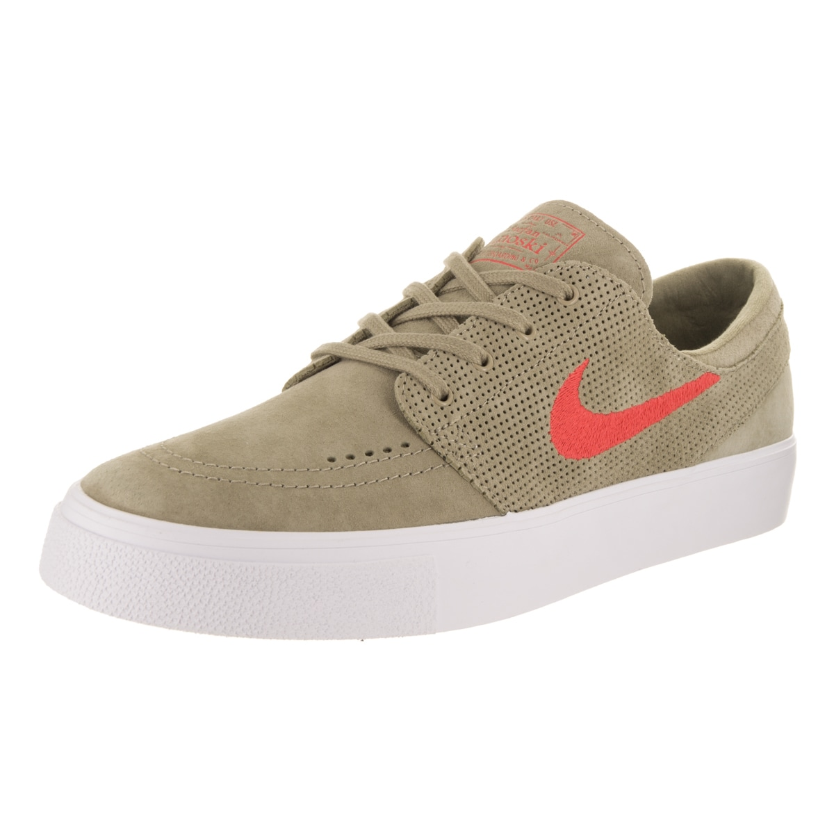 info for eb52c 0c1d4 Shop Nike Men s SB Zoom Janoski HT Beige Suede Skate Shoes - Free Shipping  Today - Overstock.com - 15924635