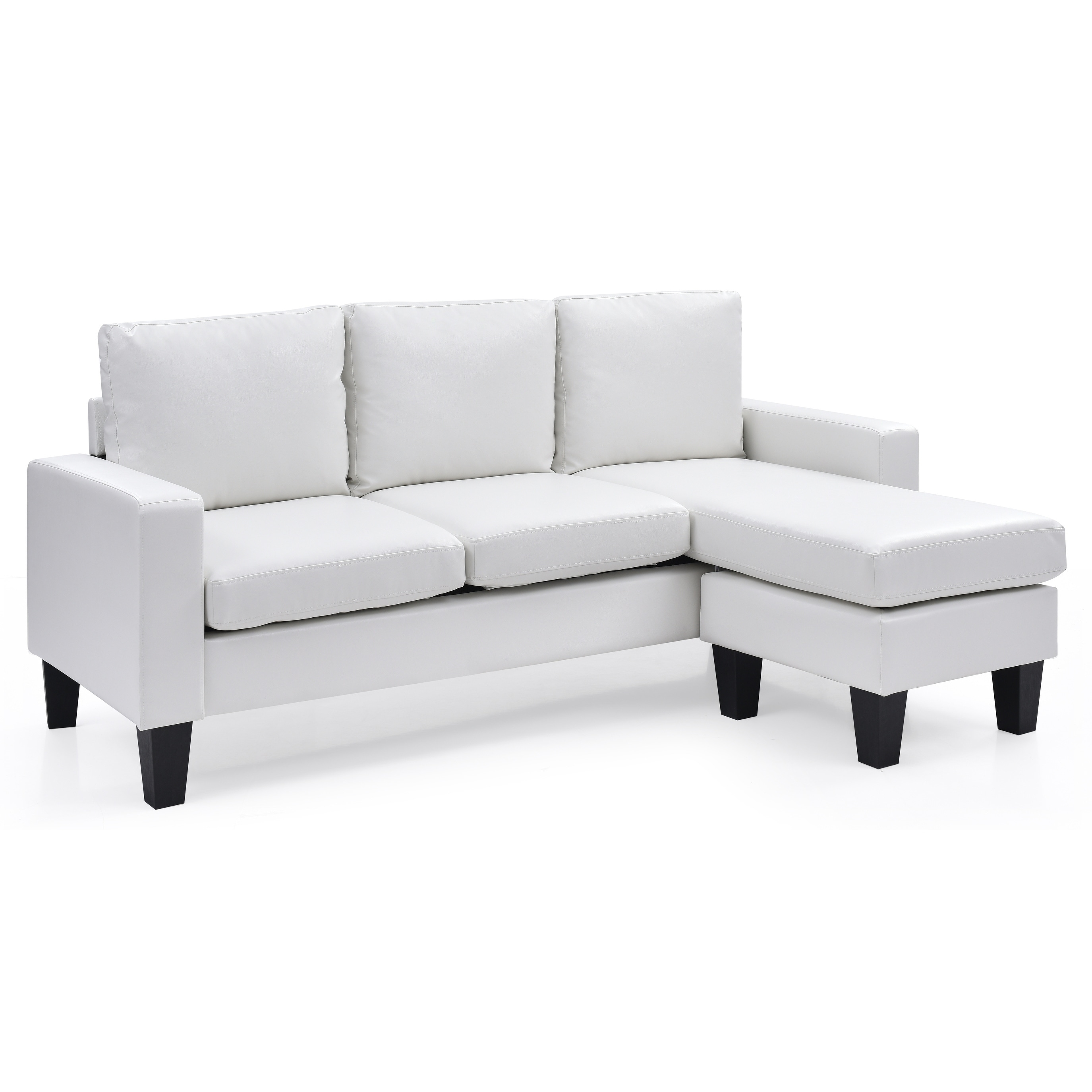 Shop LYKE Home Reversible Apartment Sofa Chaise - On Sale - Free ...