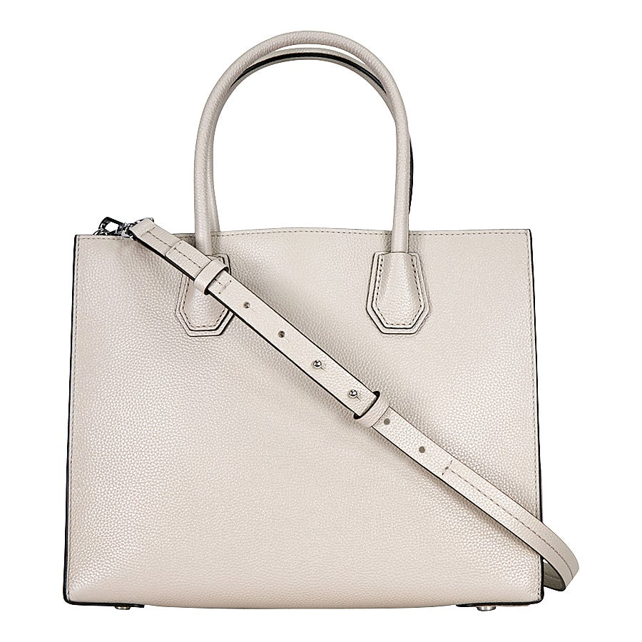 54be757afe7f Shop Michael Kors Studio Mercer Cement Large Convertible Tote Bag - Free  Shipping Today - Overstock - 15942789