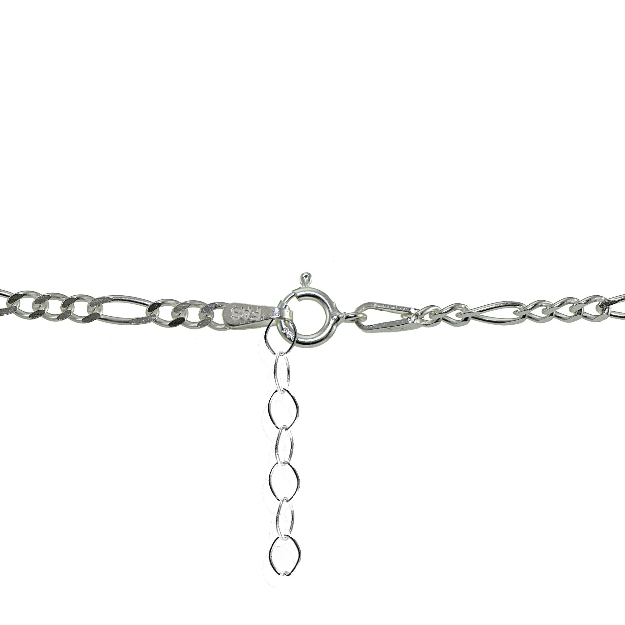 anklet fancy bracelet charms with charm links round sterling heart padlock silver