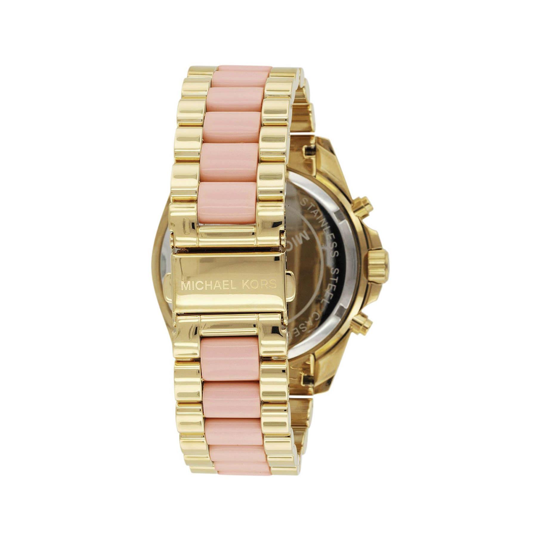 d877b509074b Michael Kors Women s MK6359 Bradshaw Chronograph Stainless Steel Watch -  Gold