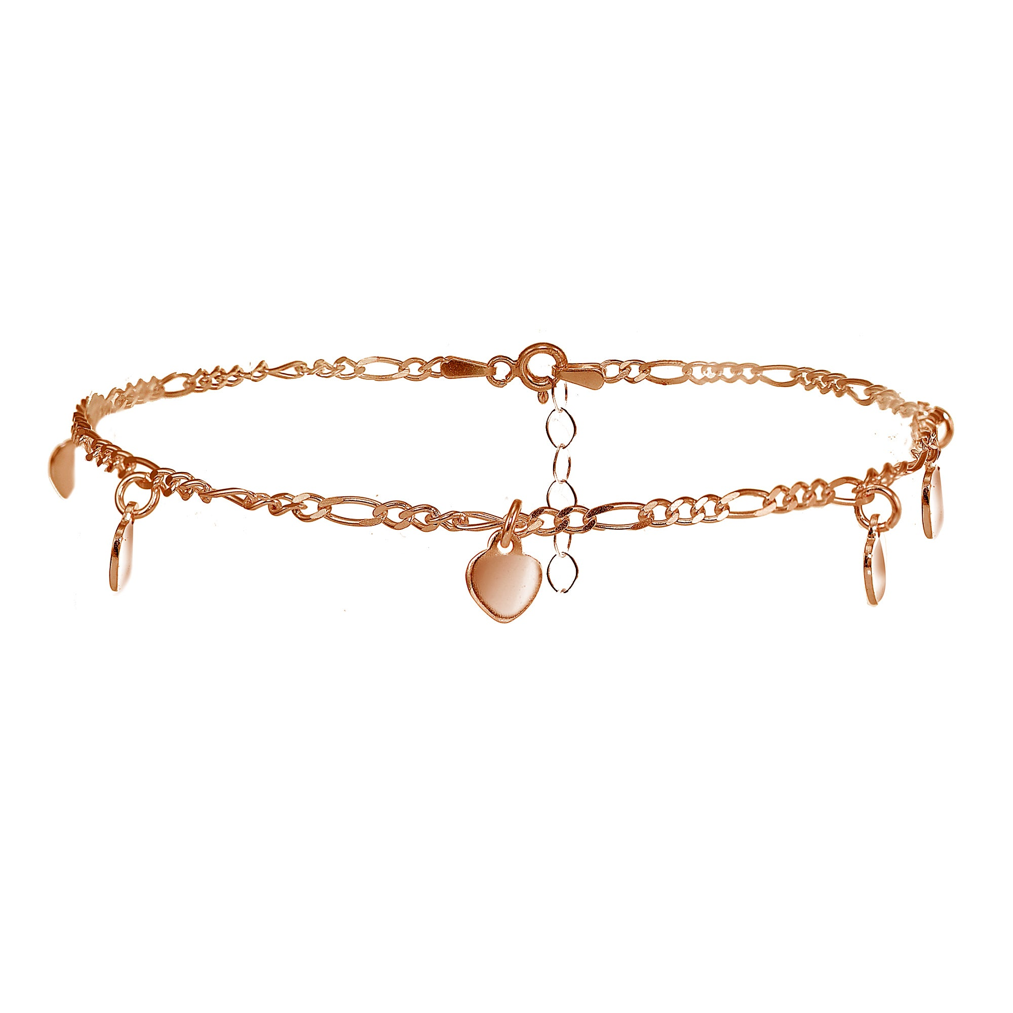 tone gold rose filigree s buy claire disc anklet