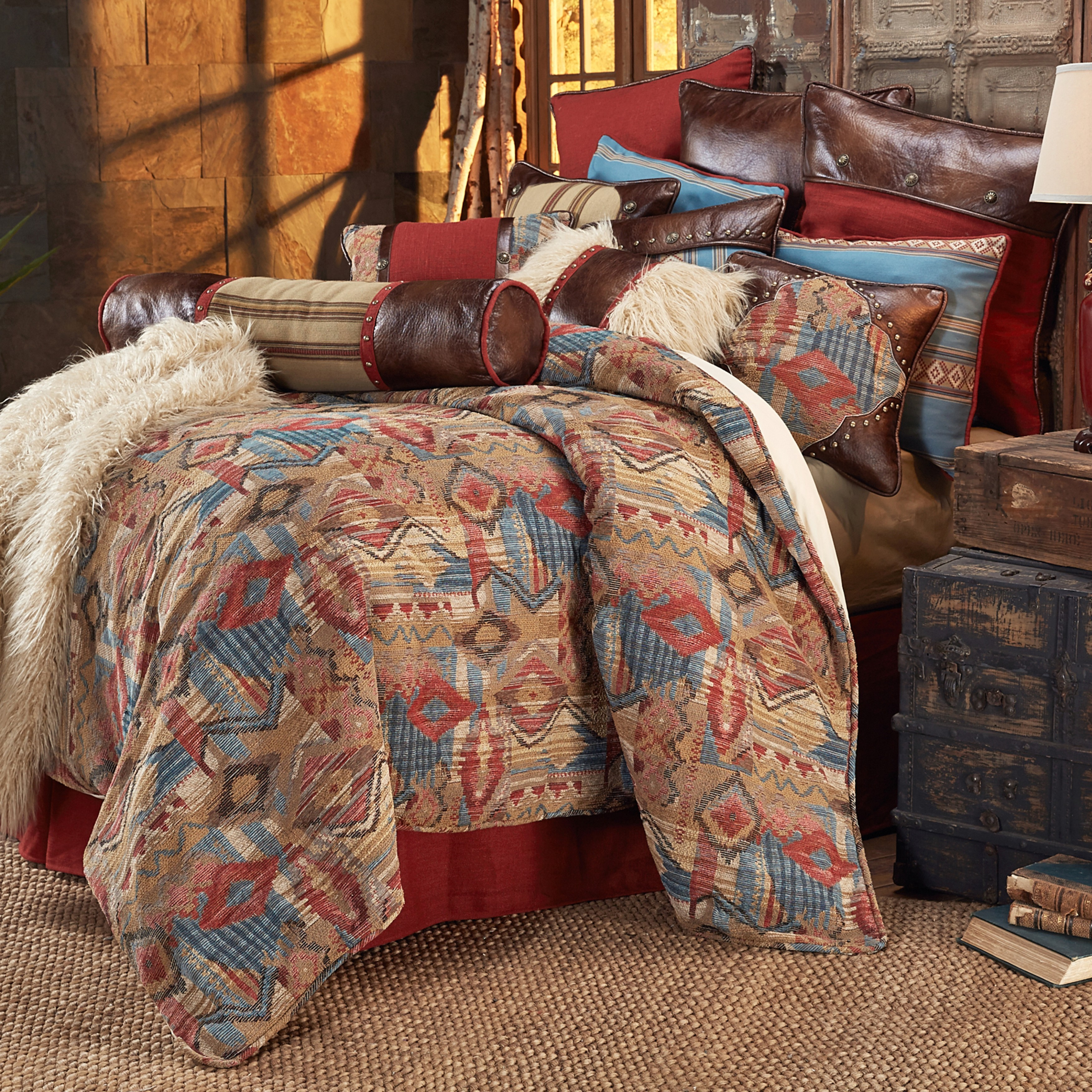 comforters southwestern design bedspreads king themed blankets quilts comforter southwest and