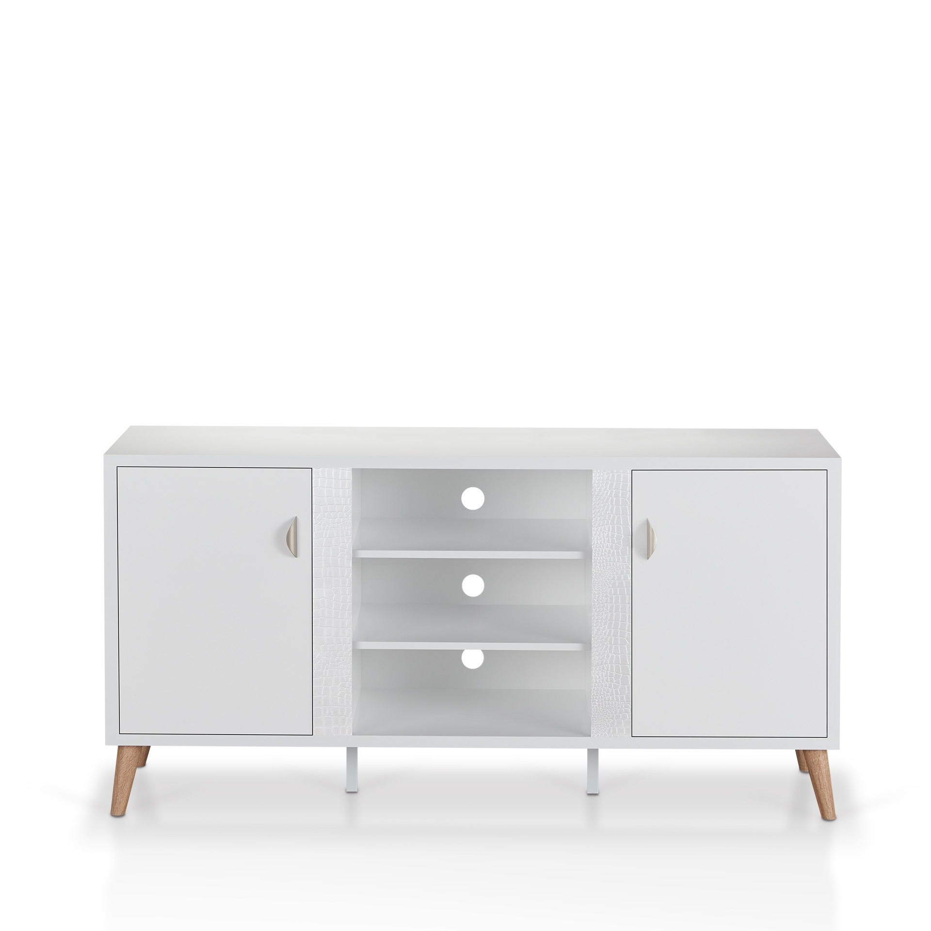 Superbe Shop Furniture Of America Tempton Contemporary Multi Storage Glossy White  Buffet   On Sale   Free Shipping Today   Overstock.com   15952017