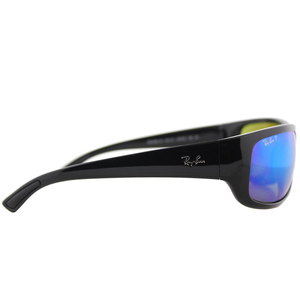 390fcf42a6 Shop Ray-Ban RB 4283CH 601 A1 Chromance Collection Black Plastic Sport  Sunglasses Blue Mirror Chromance Lens - Free Shipping Today - Overstock -  15957854