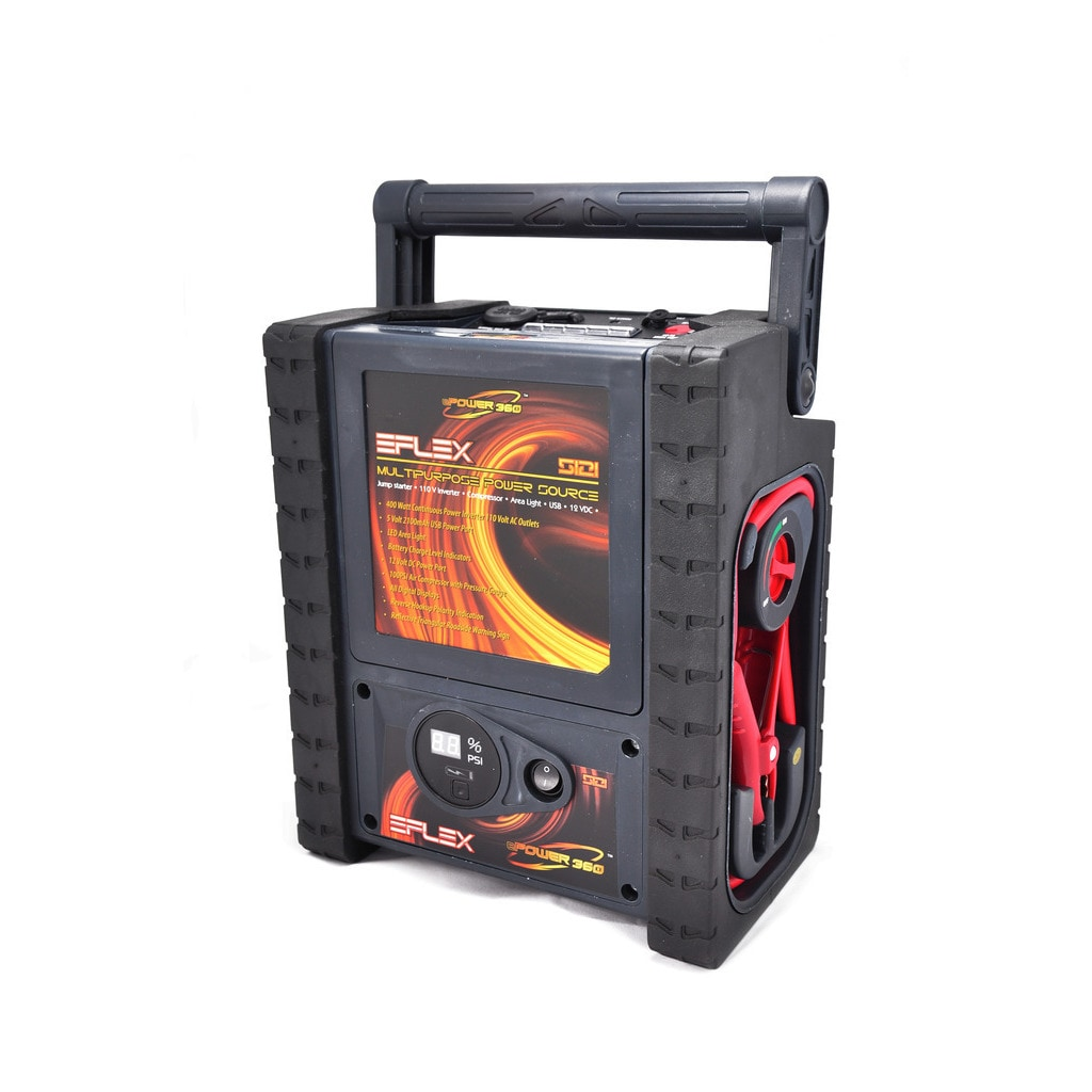 Shop Epower Eflex Lithium Ion Power Source With 12v Jump Starter And Wire Diagram Jumpbox Air Compressor Free Shipping Today 15958793