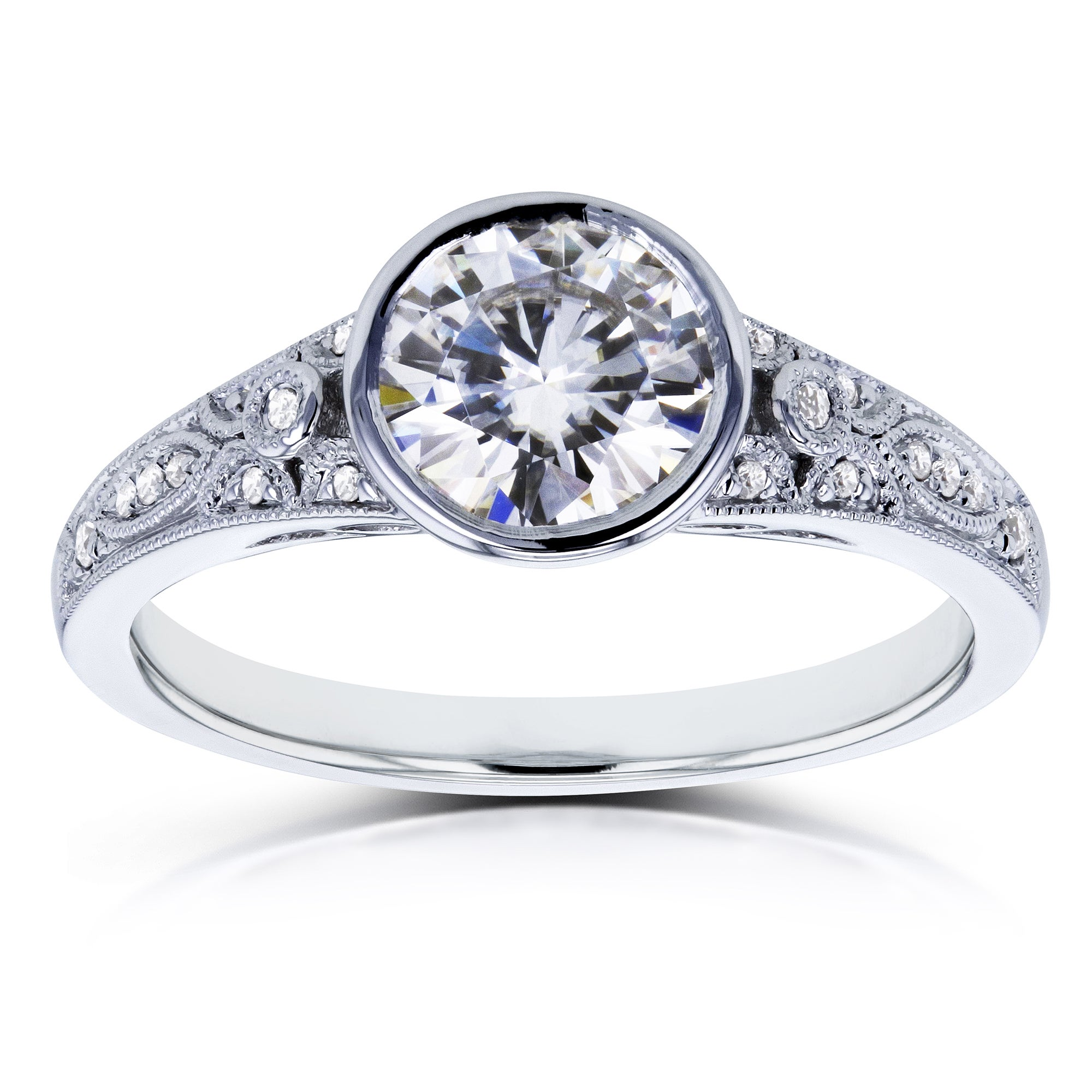 prong in accents diamond engagement rings white jewelry shared mounting product gold richard accent ring with cannon