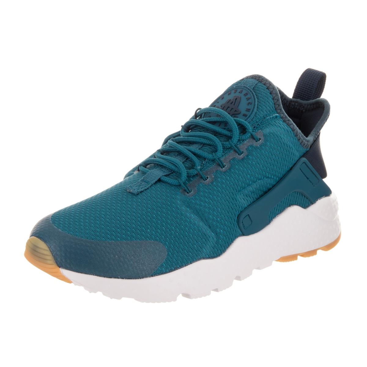 4ae364d2b5ba Shop Nike Women s Air Huarache Run Ultra Blue Textile Running Shoes ...