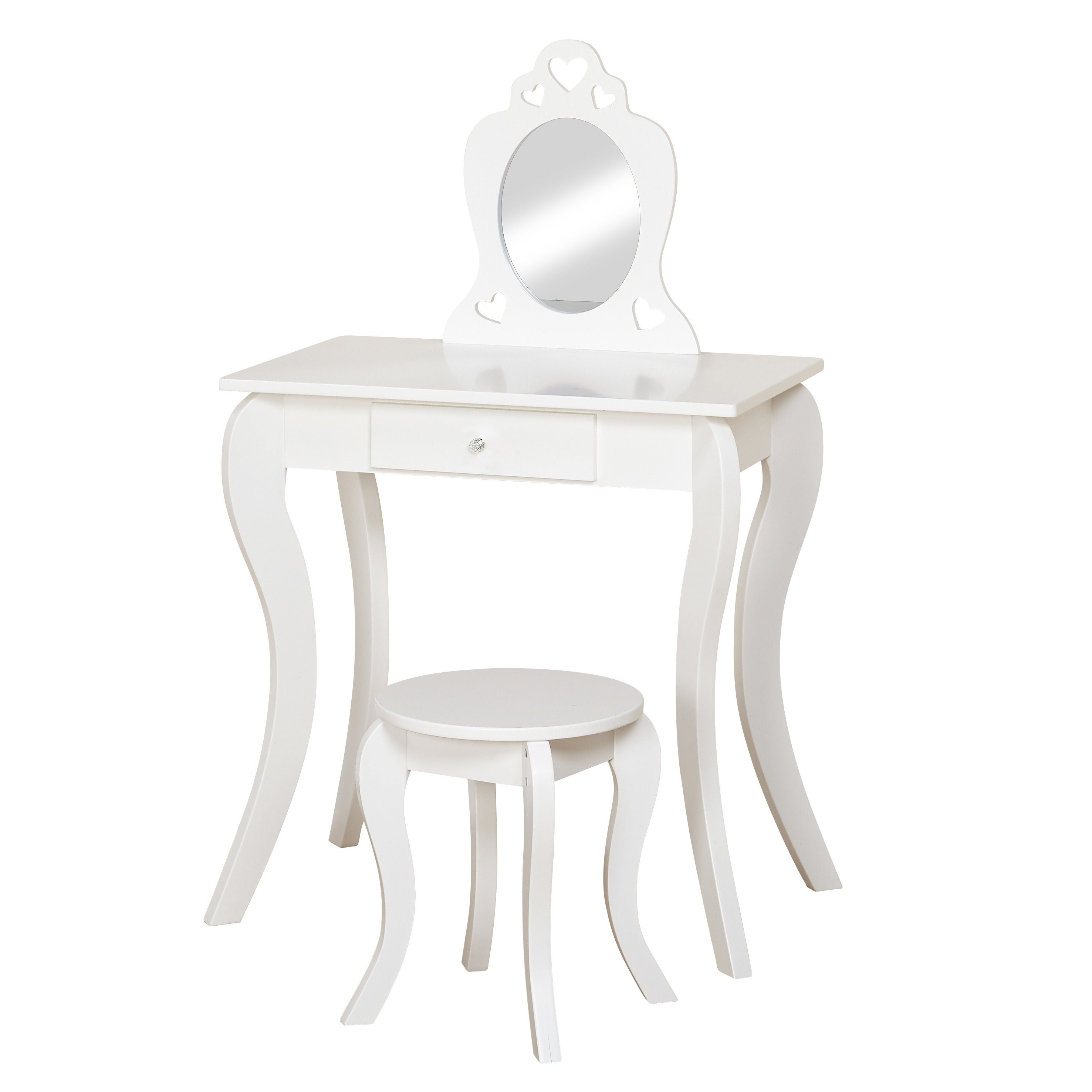 Shop Simple Living Alyssa Kids Vanity Set On Sale Free Shipping