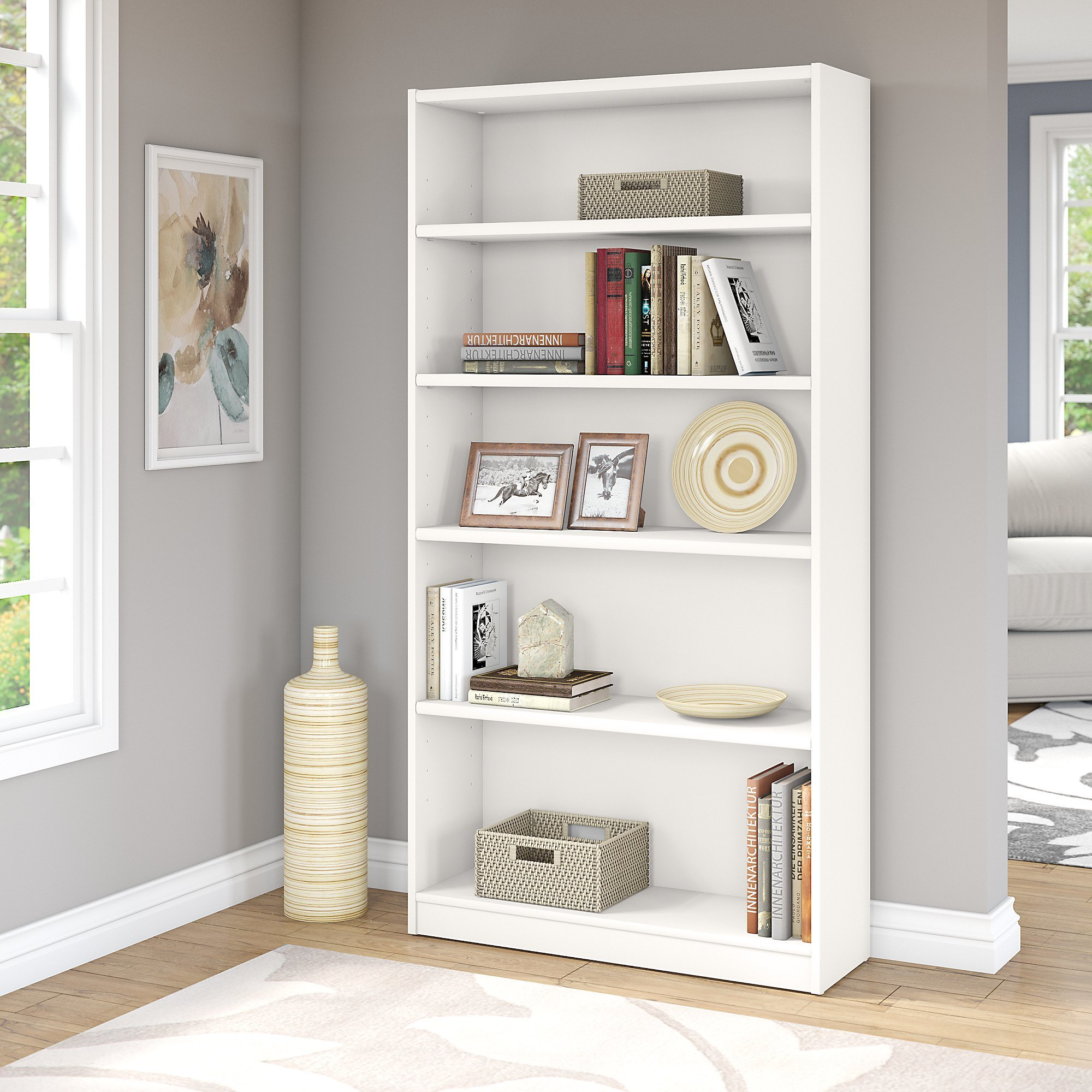 with white uk awesome dimensions wooden bookcase bookcases pure size of modern furniture rustic in supports for collection best room popular shore and narrow your design south shelf full axess large