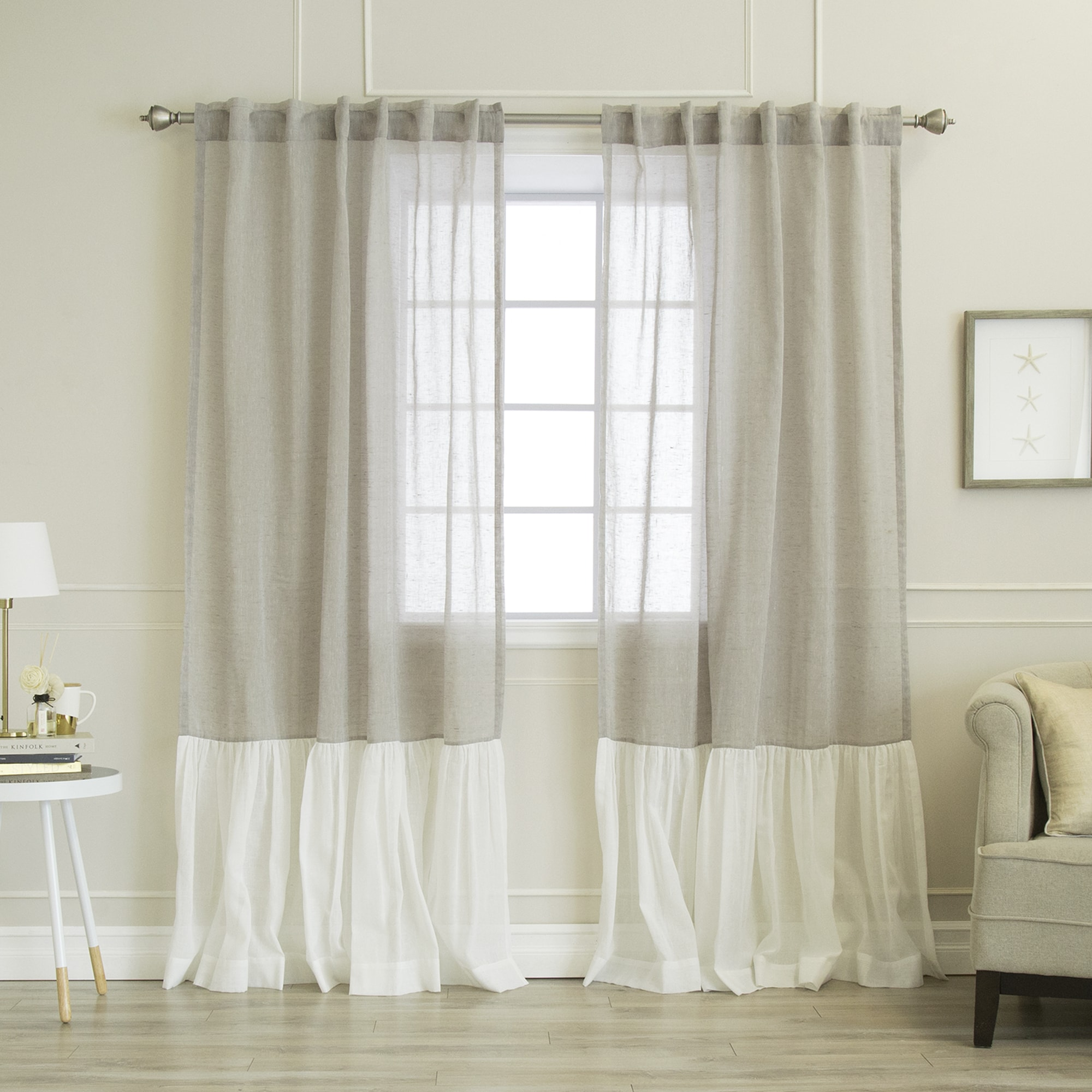 amazing shipping ruffled ruffle pict decor for and files panels window lush treatments nerina inspiration today white curtain pair popular overstock linen curtains panel