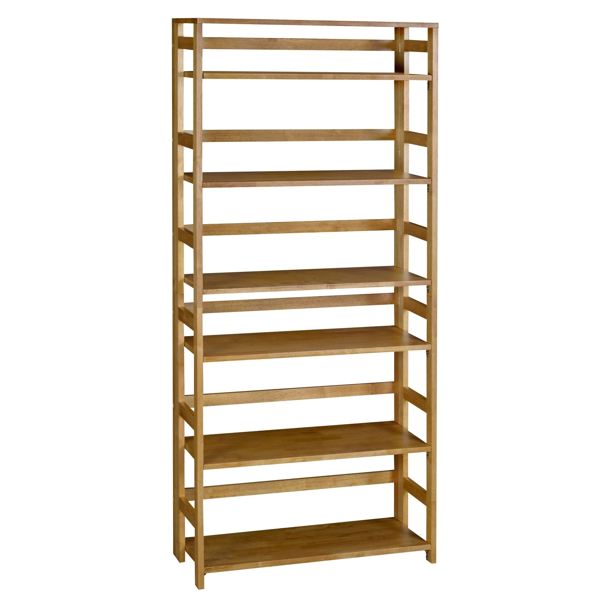 folding bookcase from stackable hayneedle tier com decor pin bookshelf
