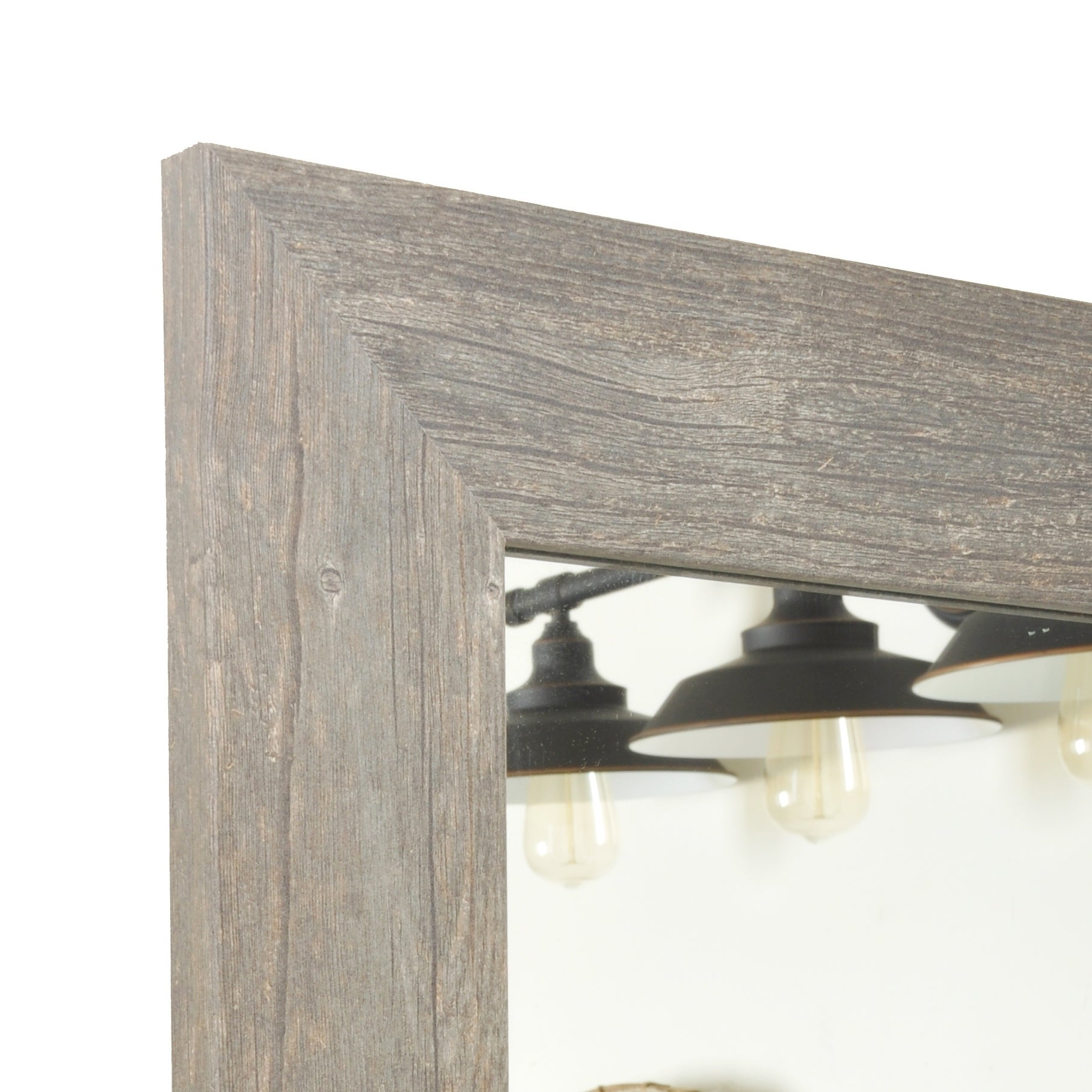 Multi Size Brandtworks Urban Frontier Barnwood Floor Mirror Antique Brown Free Shipping Today 15999455