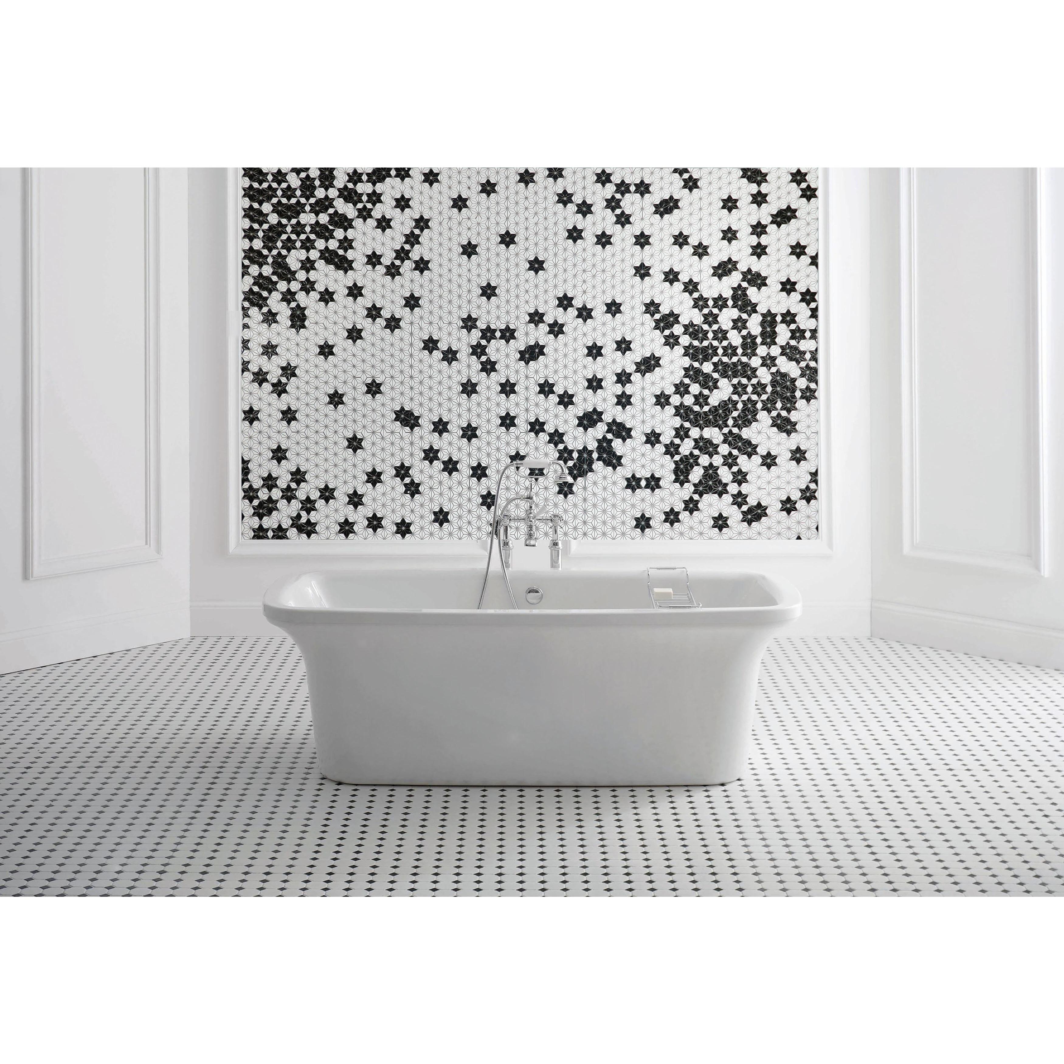 Shop ANT Tile Customizable HexaGram Pattern Art Deco Wall Tiles ...
