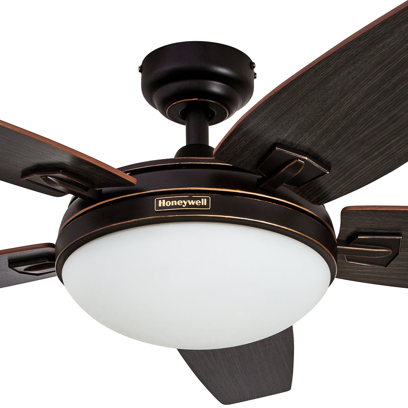 48 honeywell carmel oil rubbed bronze ceiling fan with integrated 48 honeywell carmel oil rubbed bronze ceiling fan with integrated light and remote free shipping today overstock 22393897 aloadofball Choice Image