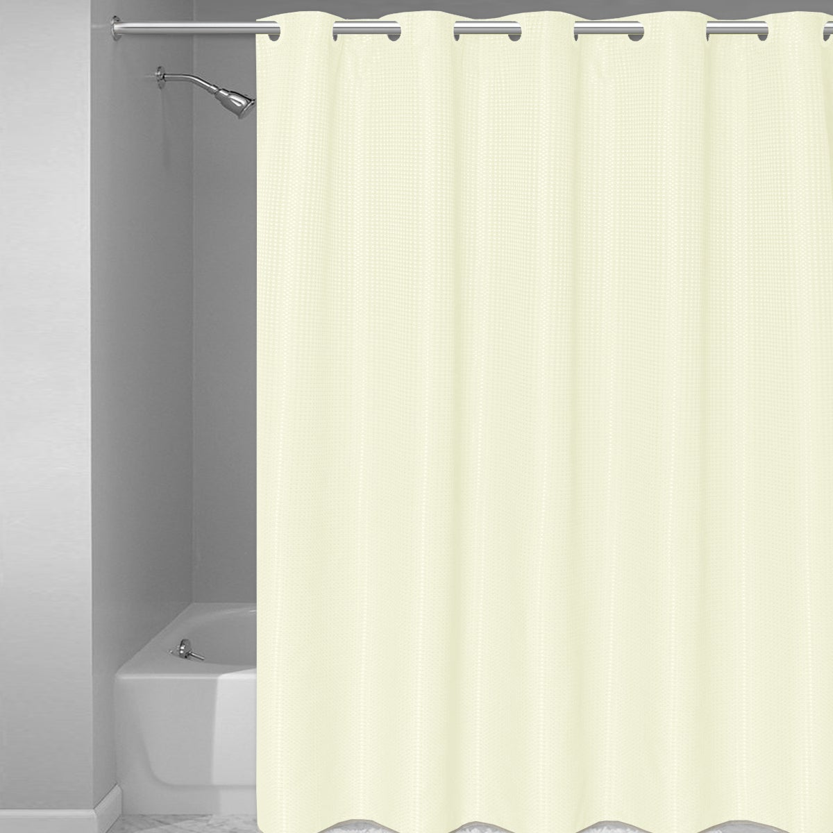 home com eflashbuilder shower black extra and design curtain long interior weave white with waffle curtains picture