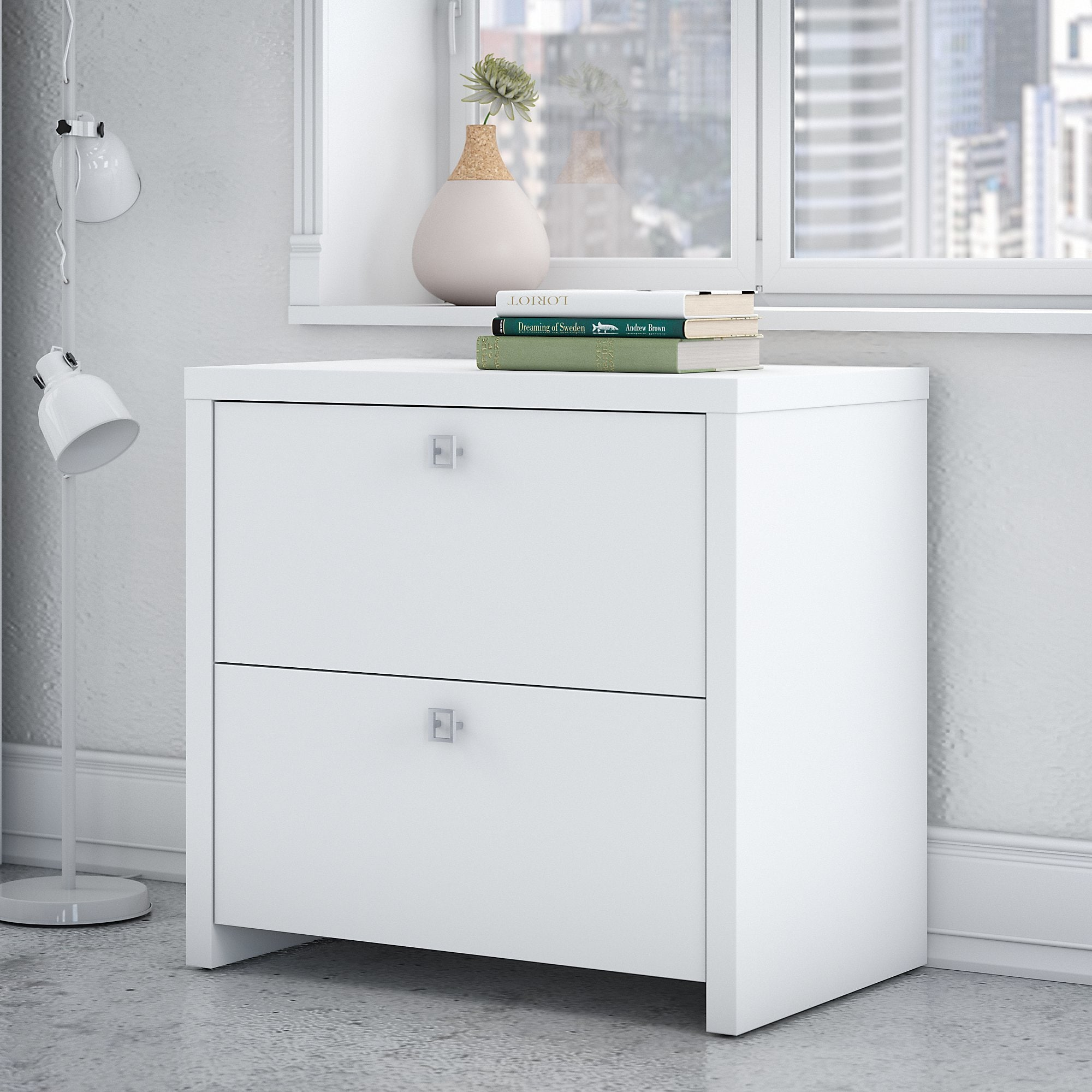Shop Office By Kathy Ireland Echo Lateral File Cabinet   Free Shipping  Today   Overstock.com   16003468