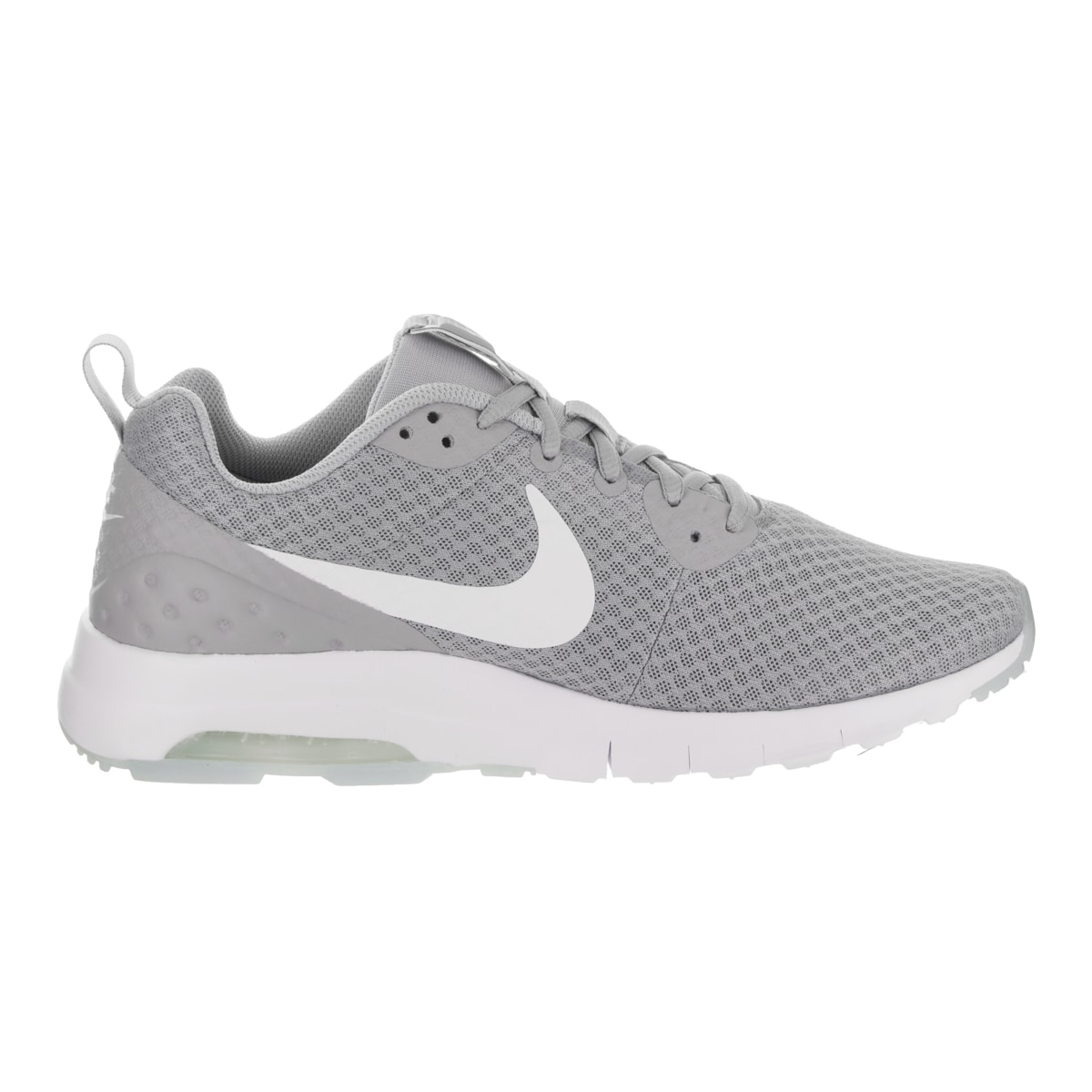 Shop Nike Men s Air Max Motion Lw Grey Synthetic Leather Running Shoes -  Free Shipping Today - Overstock - 16006290 5f46409b8