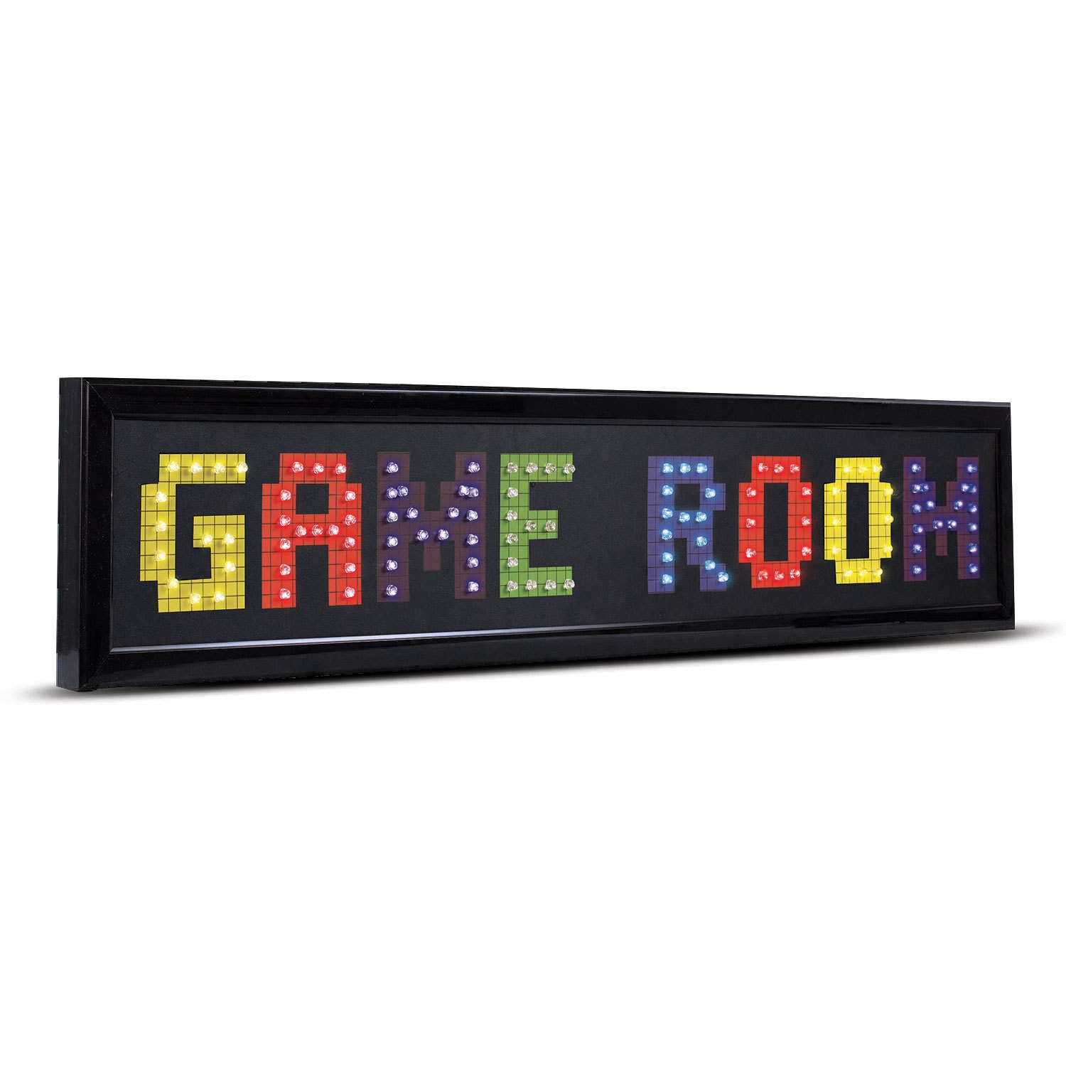 Shop Game Room Framed LED Lights Man Cave Wall Decor - Free Shipping ...