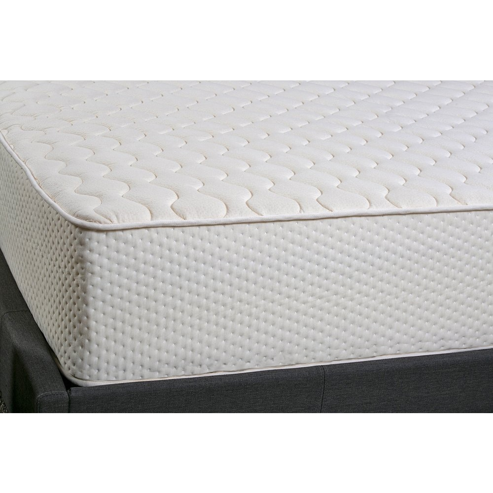 Hevea Bliss 9 Inch Queen Size Flippable Natural Latex Mattress Free Shipping Today 22457597