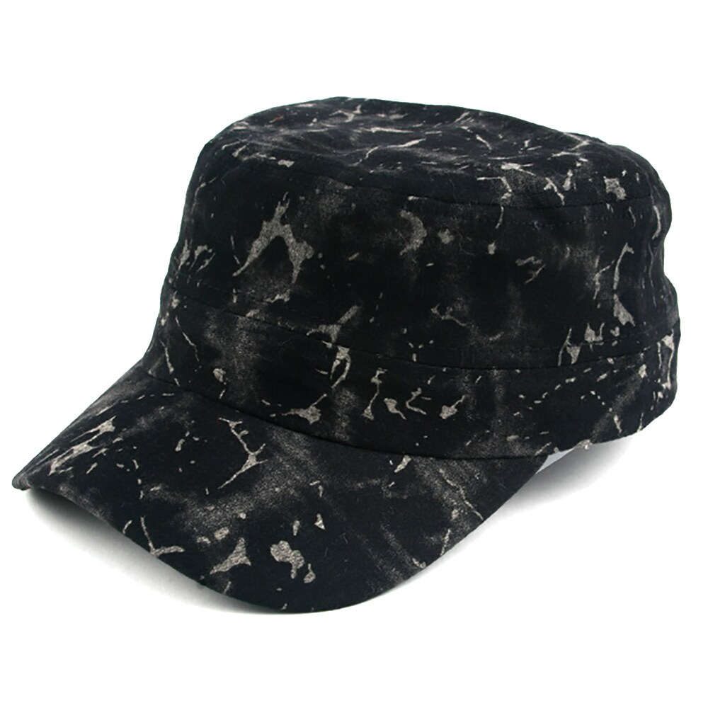 Shop Pop Fashionwear Unisex Marble Painted Look Cadet Hat - Free Shipping  On Orders Over  45 - Overstock.com - 16072092 f135e1be1170