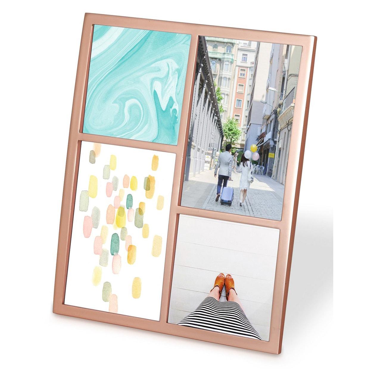 Shop Umbra Senza Multi Picture Frame Copper 1004211-880 - Free ...