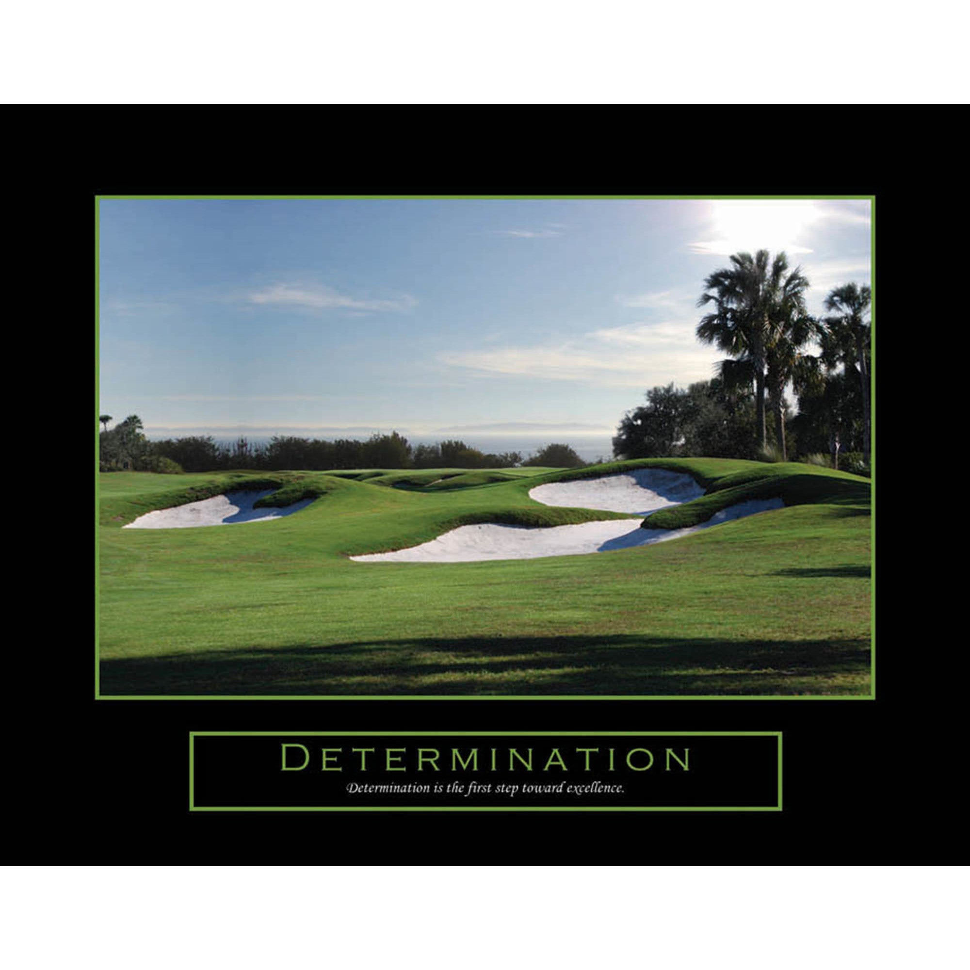 Inspirational Golf Quotes Motivational And Inspirational 'determination' Quotes Wall Art