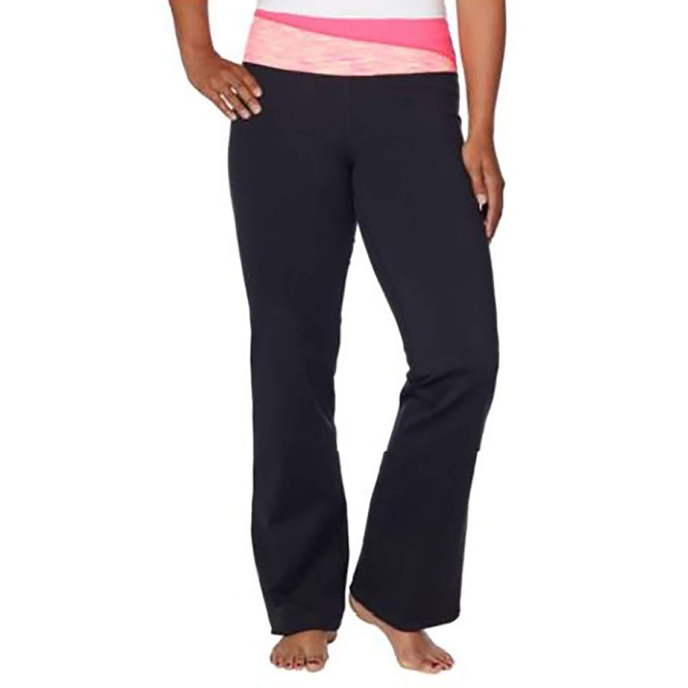 2ec96802893 Shop Kirkland Signature Women s Full Length Stretch Yoga Athletic Pant -  Free Shipping On Orders Over  45 - Overstock - 16077829