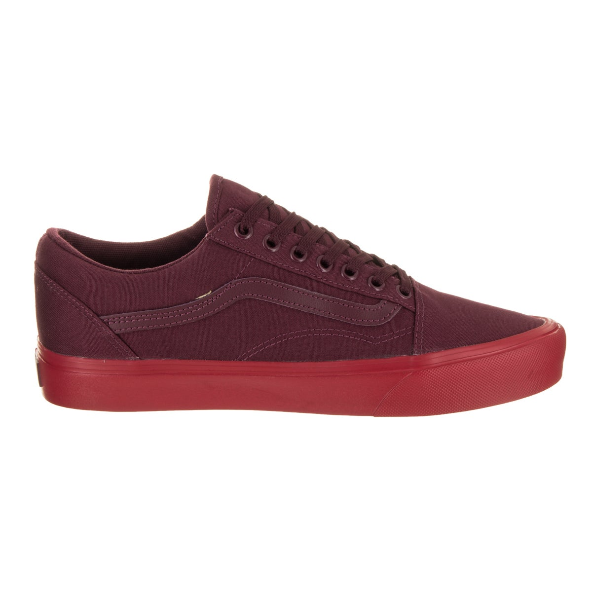 9d6734b08480 Shop Vans Unisex Old Skool Lite (Pop Sole) Red Canvas Skate Shoes - Free  Shipping Today - Overstock - 16079699
