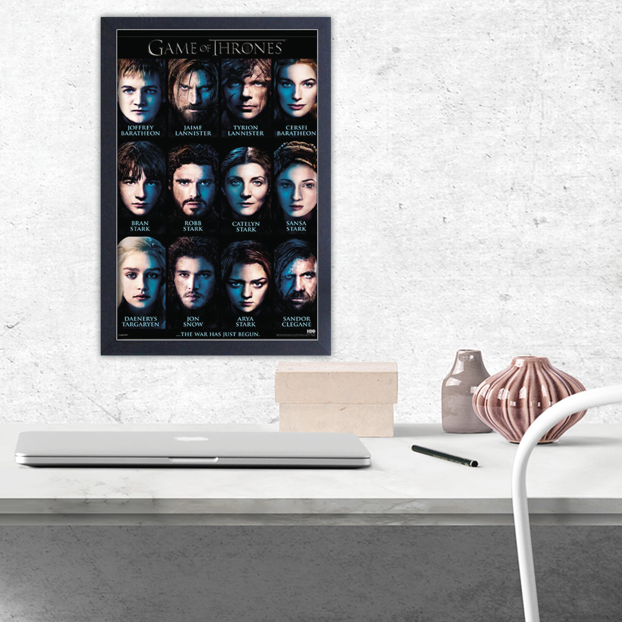 Shop Game of Thrones - Characters - Framed 11x17 print - Free ...