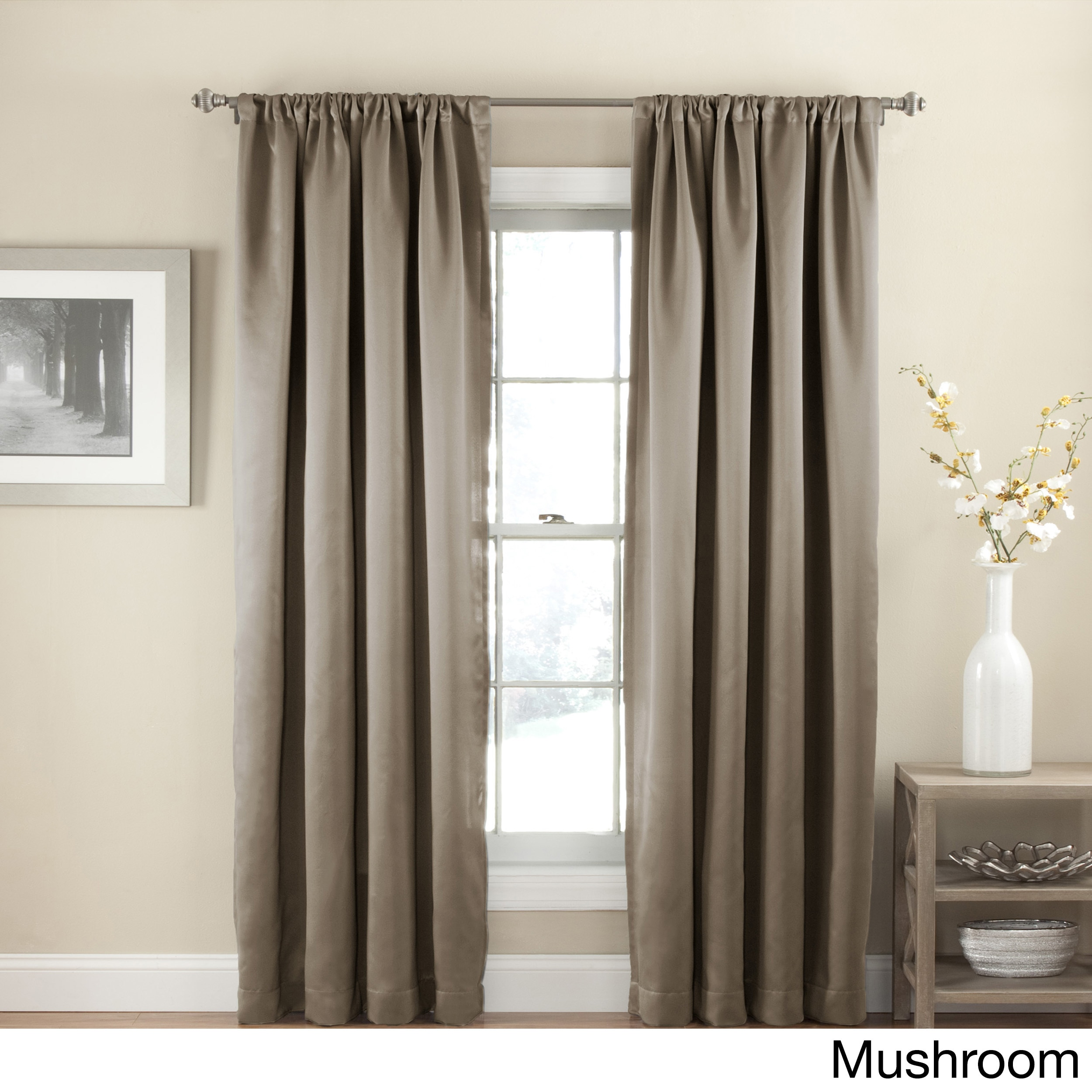 Shop eclipse solid thermapanel room darkening curtains on sale free shipping on orders over 45 overstock com 16149945