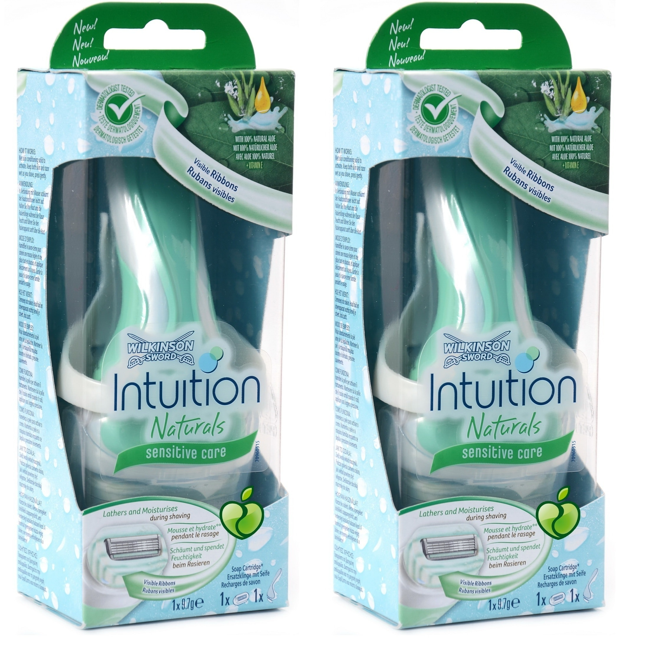 Shop Wilkinson Schick Intuition Sensitive Care Razor with 1 Refill ...