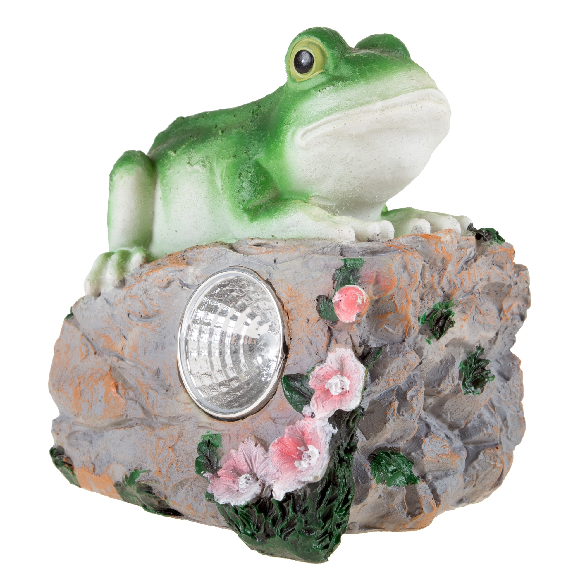 Yard Decor, Solar Outdoor LED Light And Battery Operated Statue For Garden,  Patio, Lawn, And Yard By Pure Garden   Frog Statue