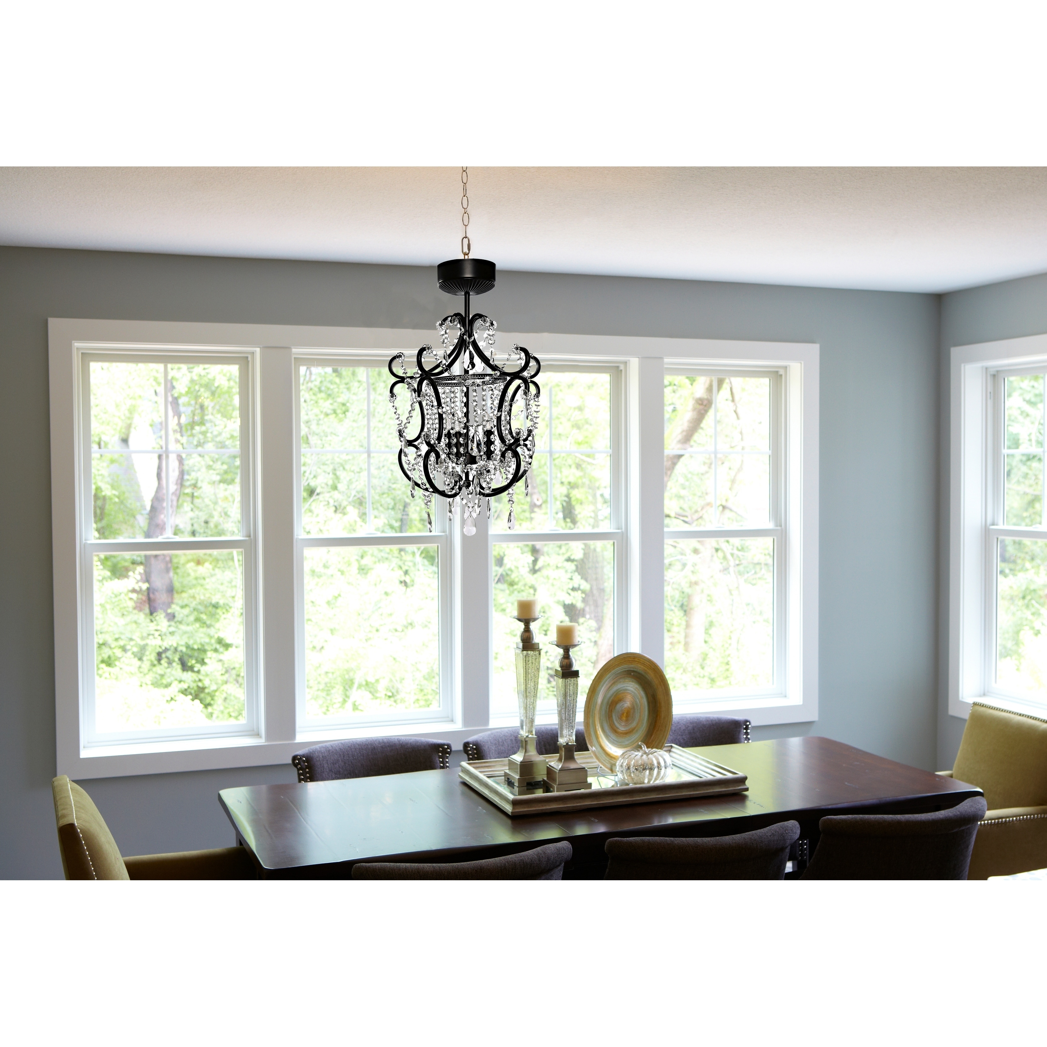 Shop poetic wanderlust tracy porter crystal cordless chandelier with shop poetic wanderlust tracy porter crystal cordless chandelier with remote free shipping today overstock 16173264 aloadofball Choice Image