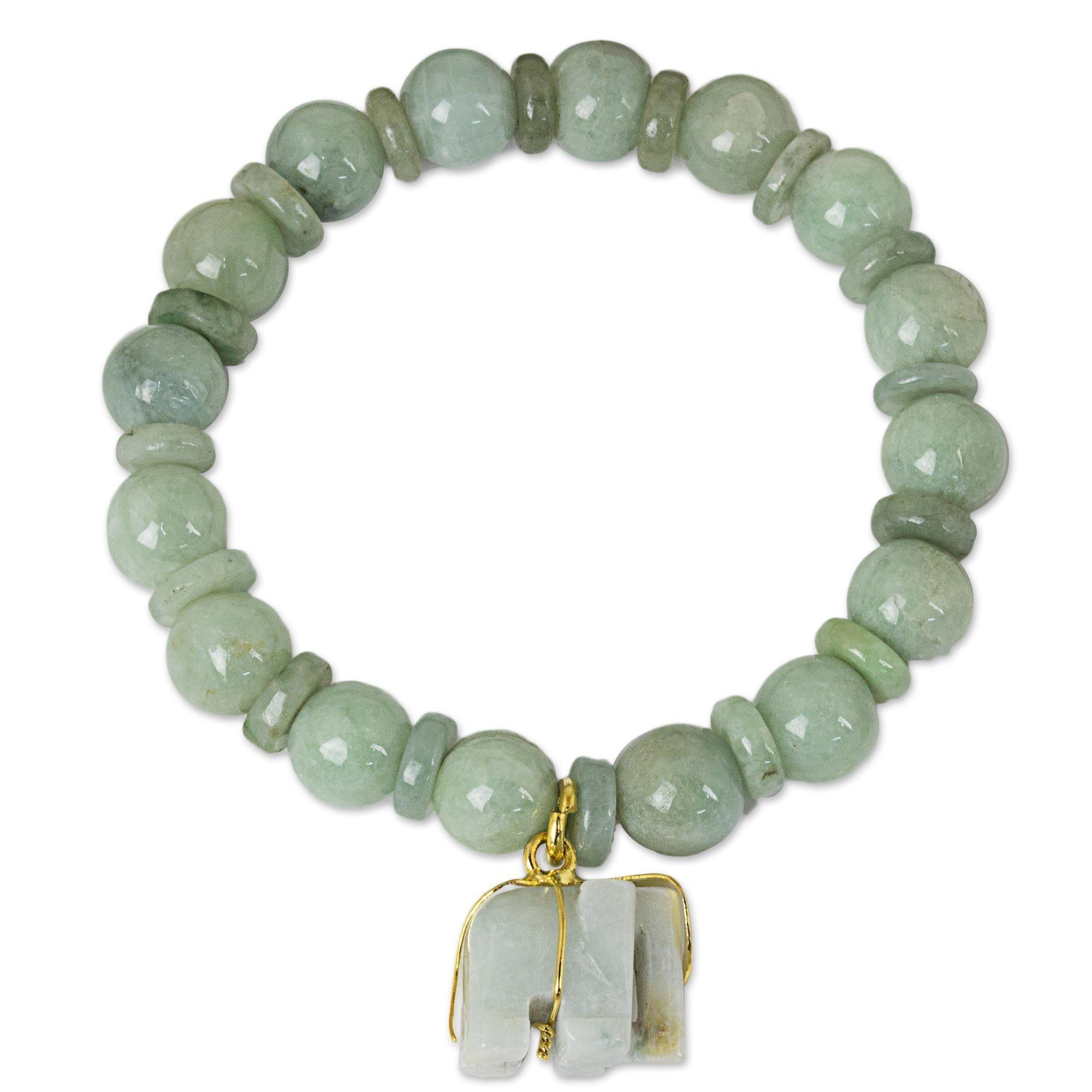 54269f892 Shop Jade Beaded Stretch Bracelet