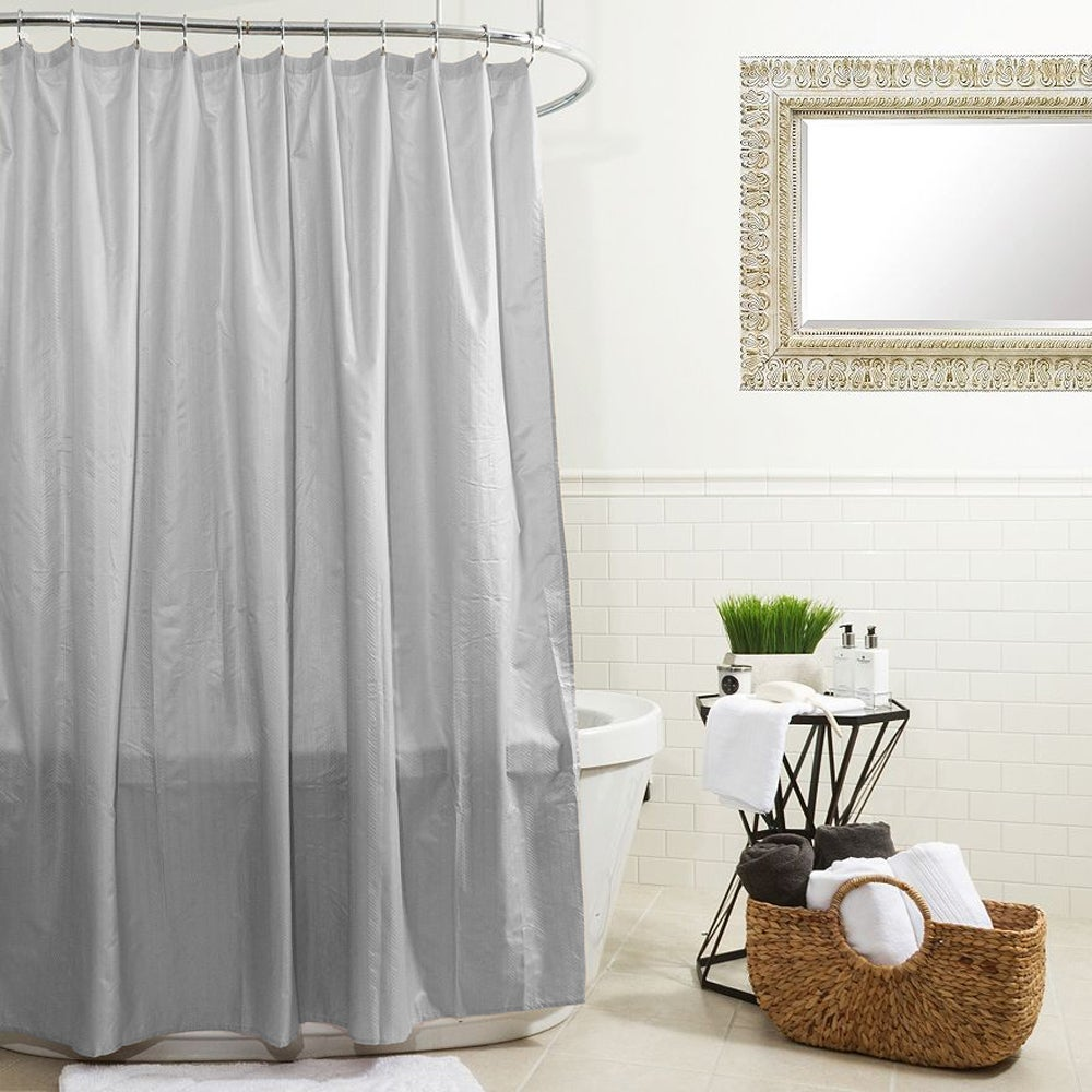 Water Proof Microfiber Shower Curtain or Liner (70 x 72) - Free ...