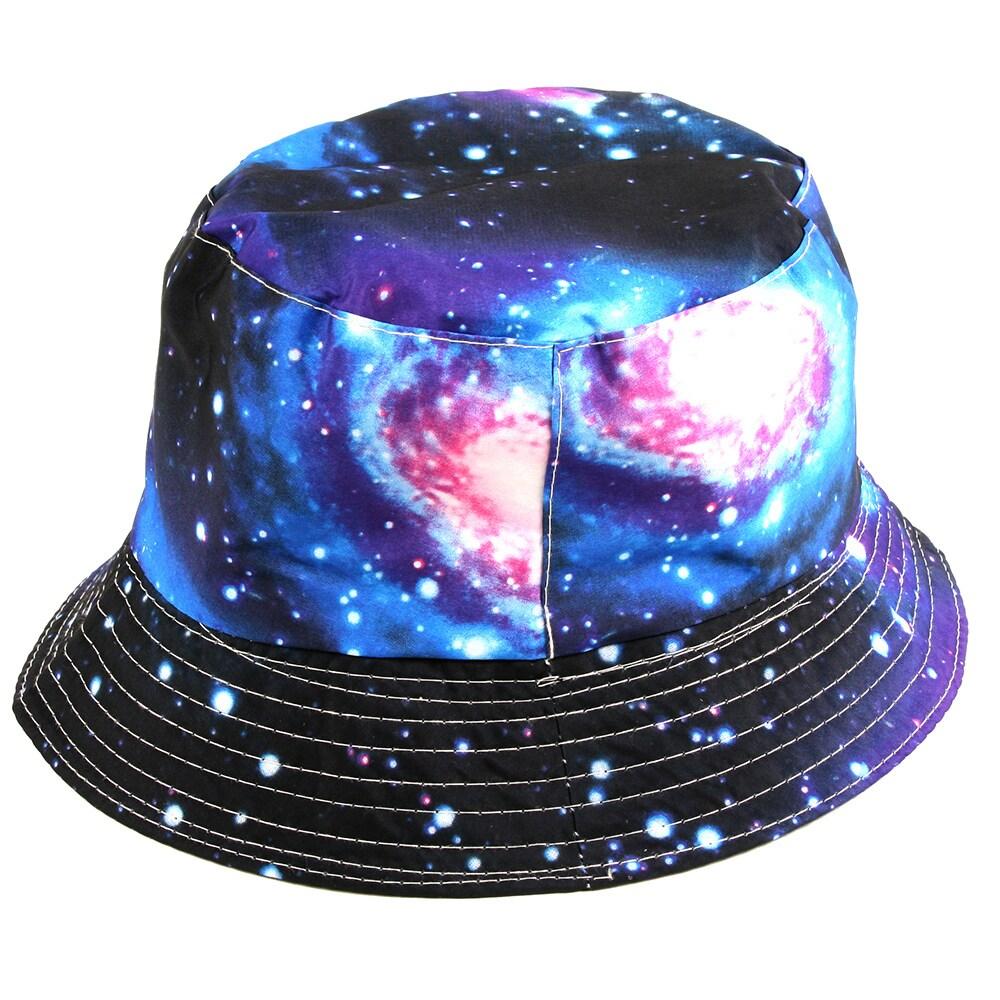 Shop Pop Fashionwear Fashion Galaxy Bucket Hat - Free Shipping On Orders  Over  45 - Overstock.com - 16180641 049f3109b7a