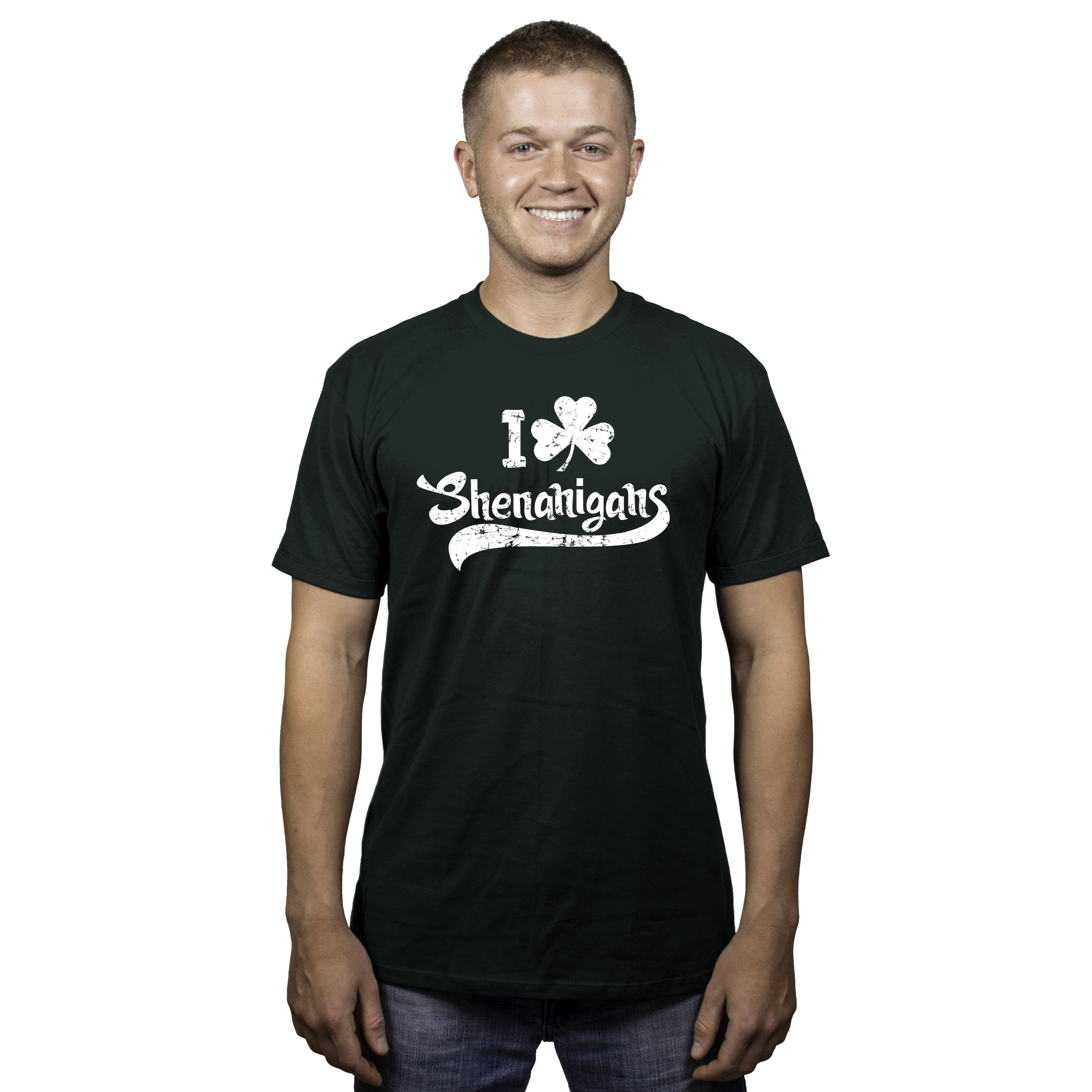 713a5713 Shop Mens I Clover Shenanigans Funny Irish St Patricks Day T shirt (Forest  Green) - Free Shipping On Orders Over $45 - Overstock - 16182787