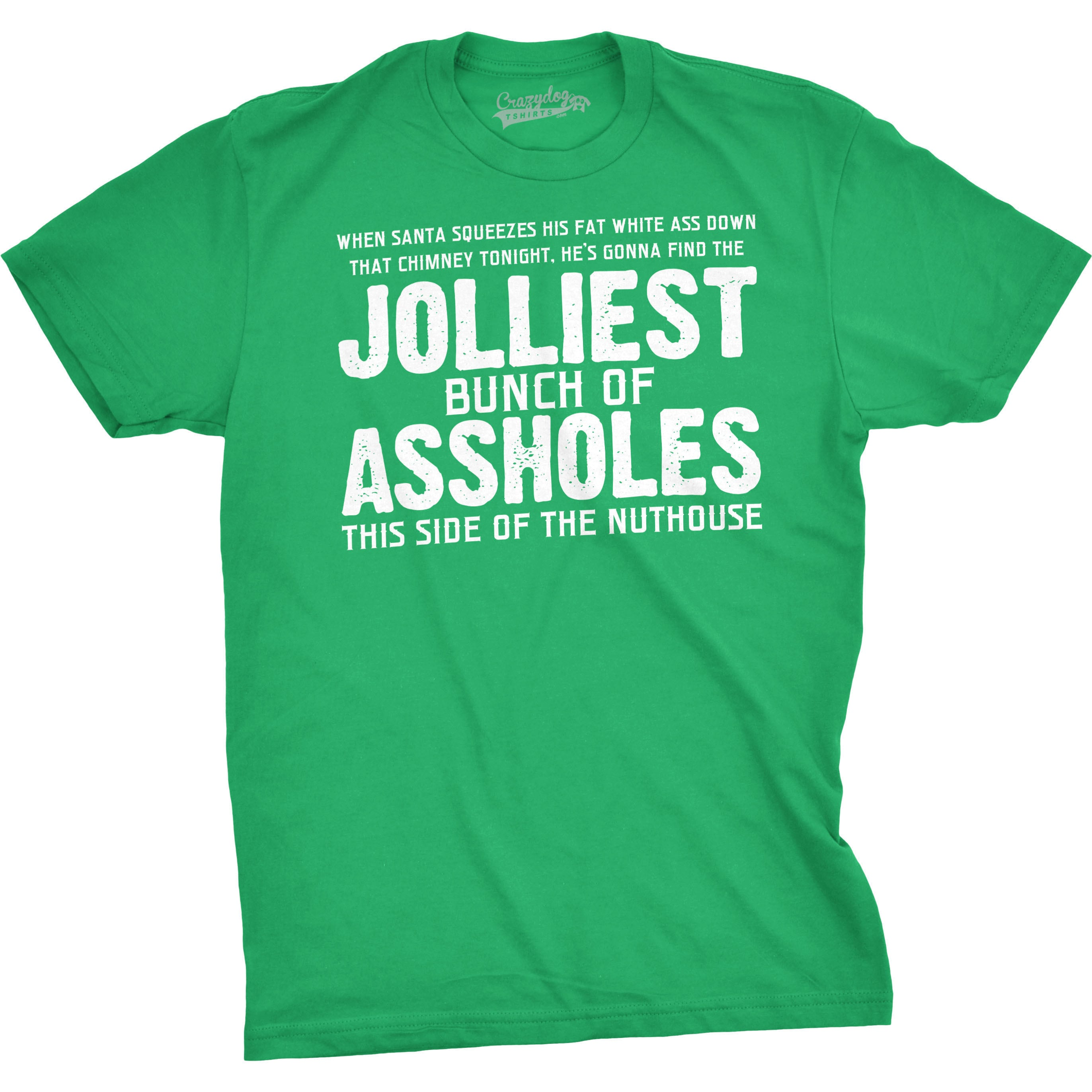 1f9b0f1a5 Shop Jolliest Bunch of A-holes Funny Christmas Holiday Family T shirt -  Free Shipping On Orders Over $45 - Overstock - 16183187