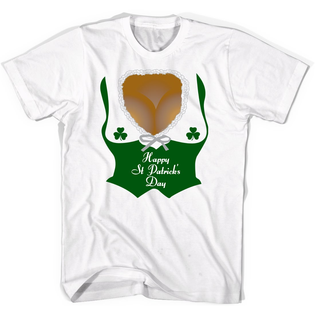 76f882532 Shop Mens Irish Barmaid Clevage T-shirt Funny St Patricks Day Shirts for  Guys - Free Shipping On Orders Over $45 - Overstock - 16183526